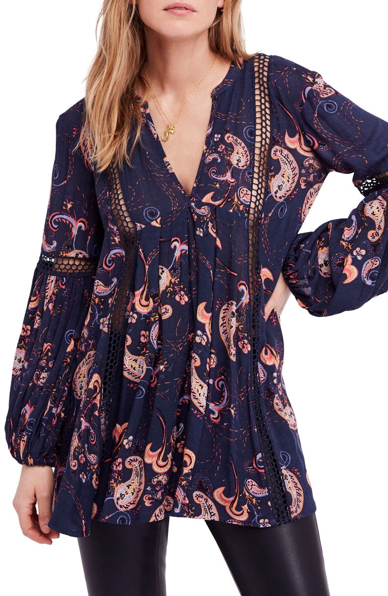 Free People Just the Two of Us Floral Tunic | Nordstrom