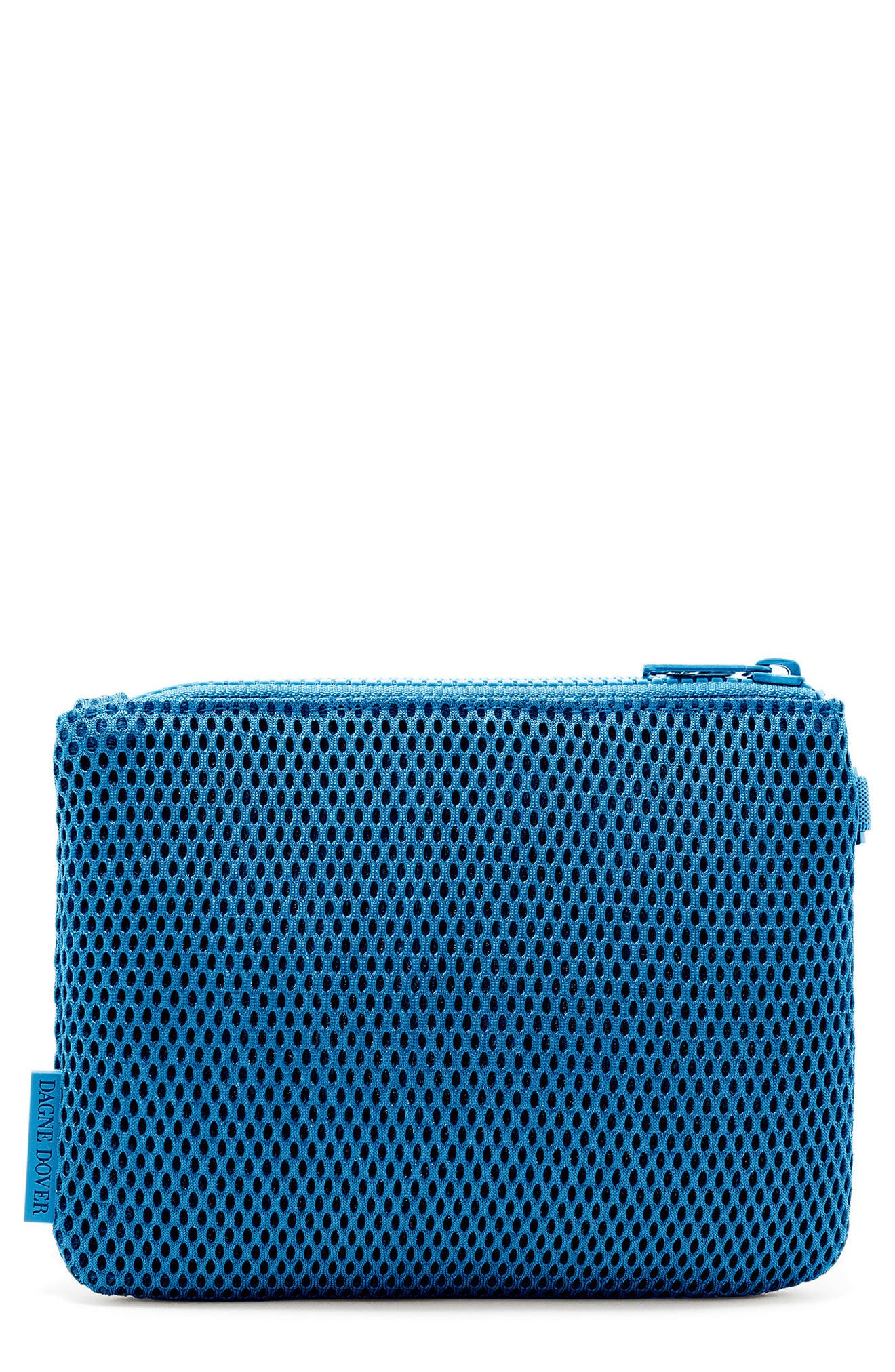 SMALL PARKER MESH POUCH - BLUE