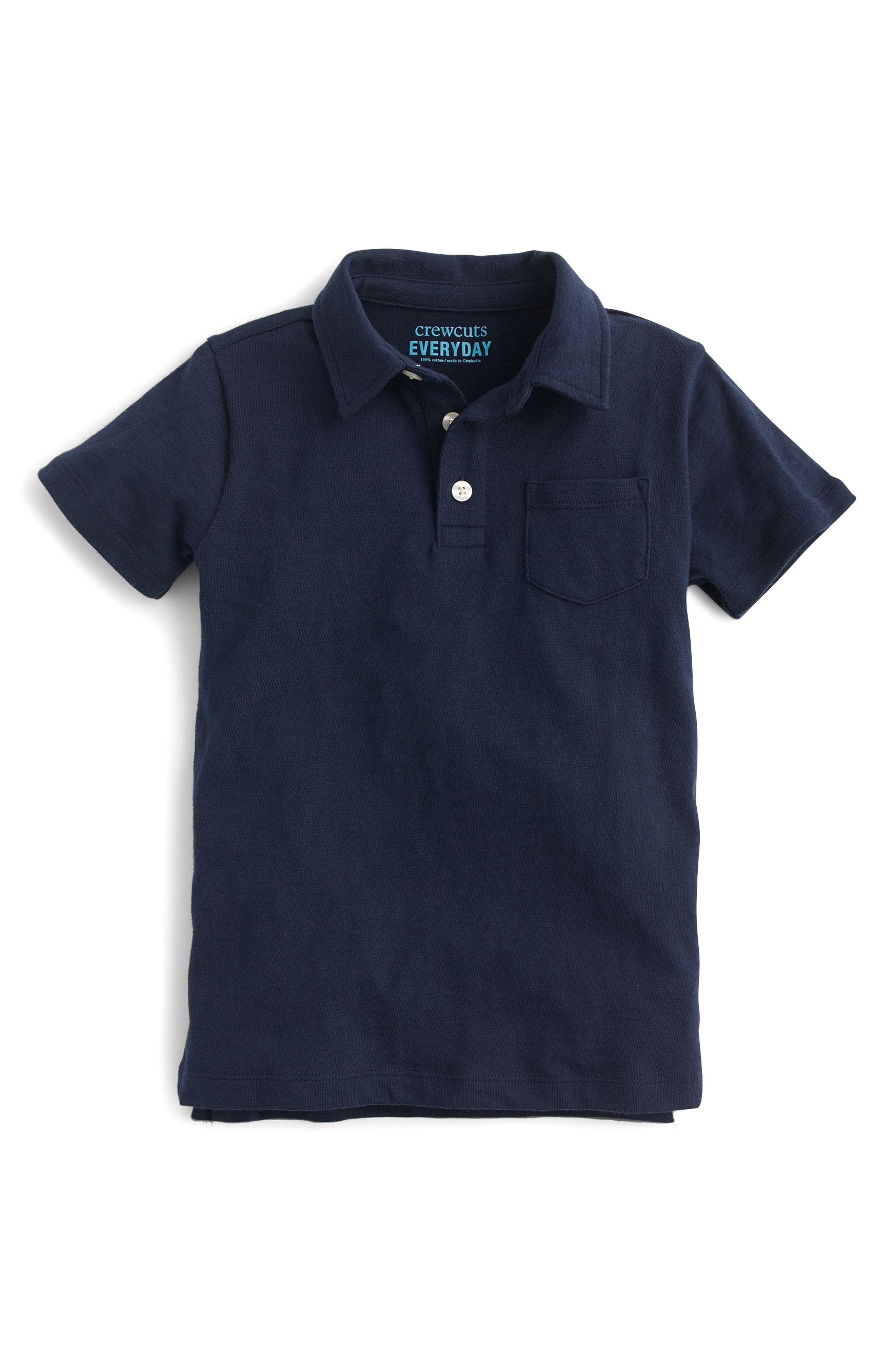 Jersey Polo,                         Main,                         color, Deep Admiral