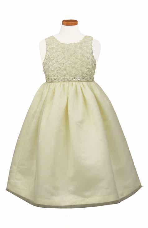 fc4a62c6c6d Sorbet Soutache Tea Length Fit   Flare Dress (Big Girls)