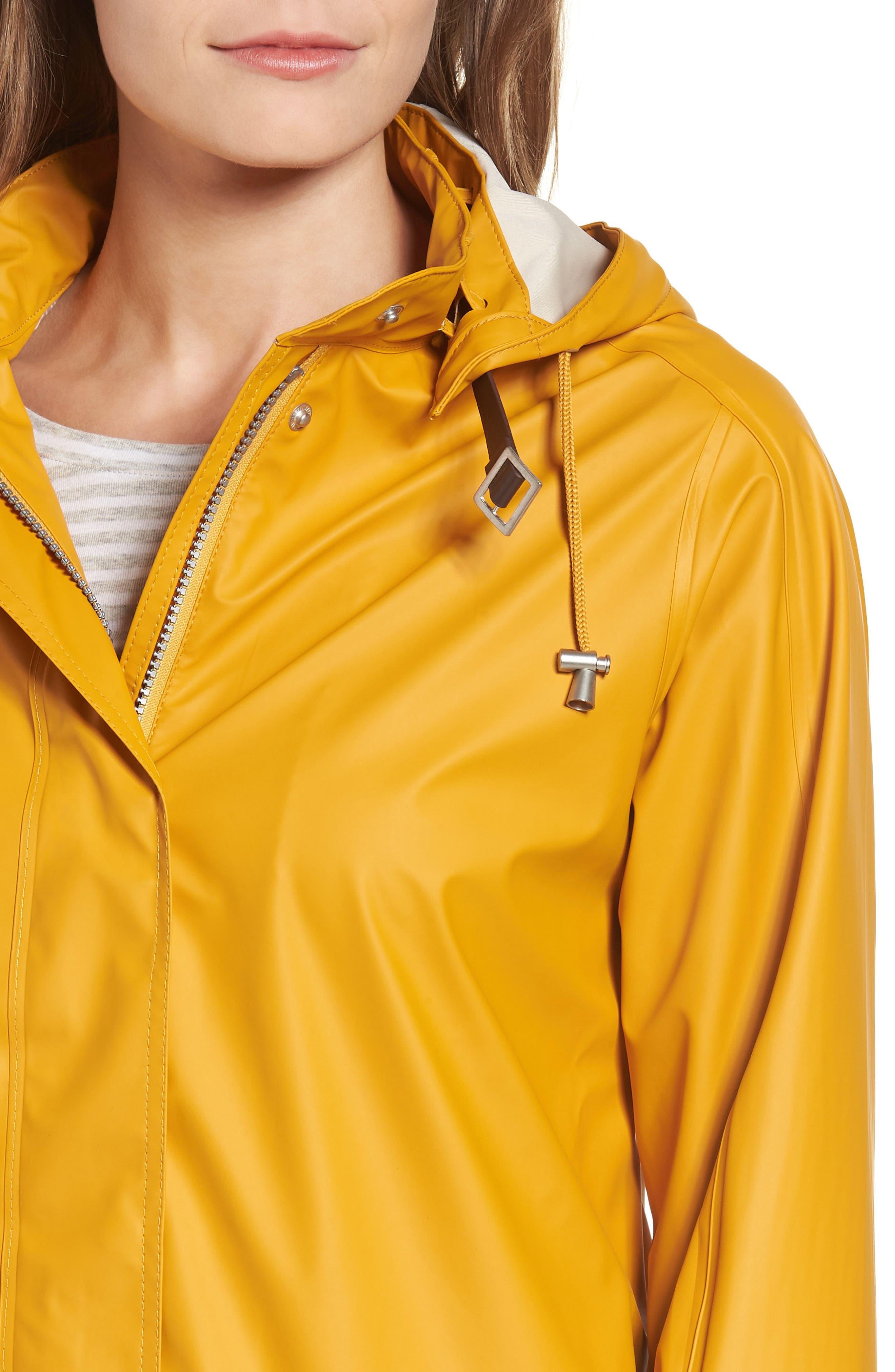 Rain Slicker,                             Alternate thumbnail 4, color,                             Golden Yellow