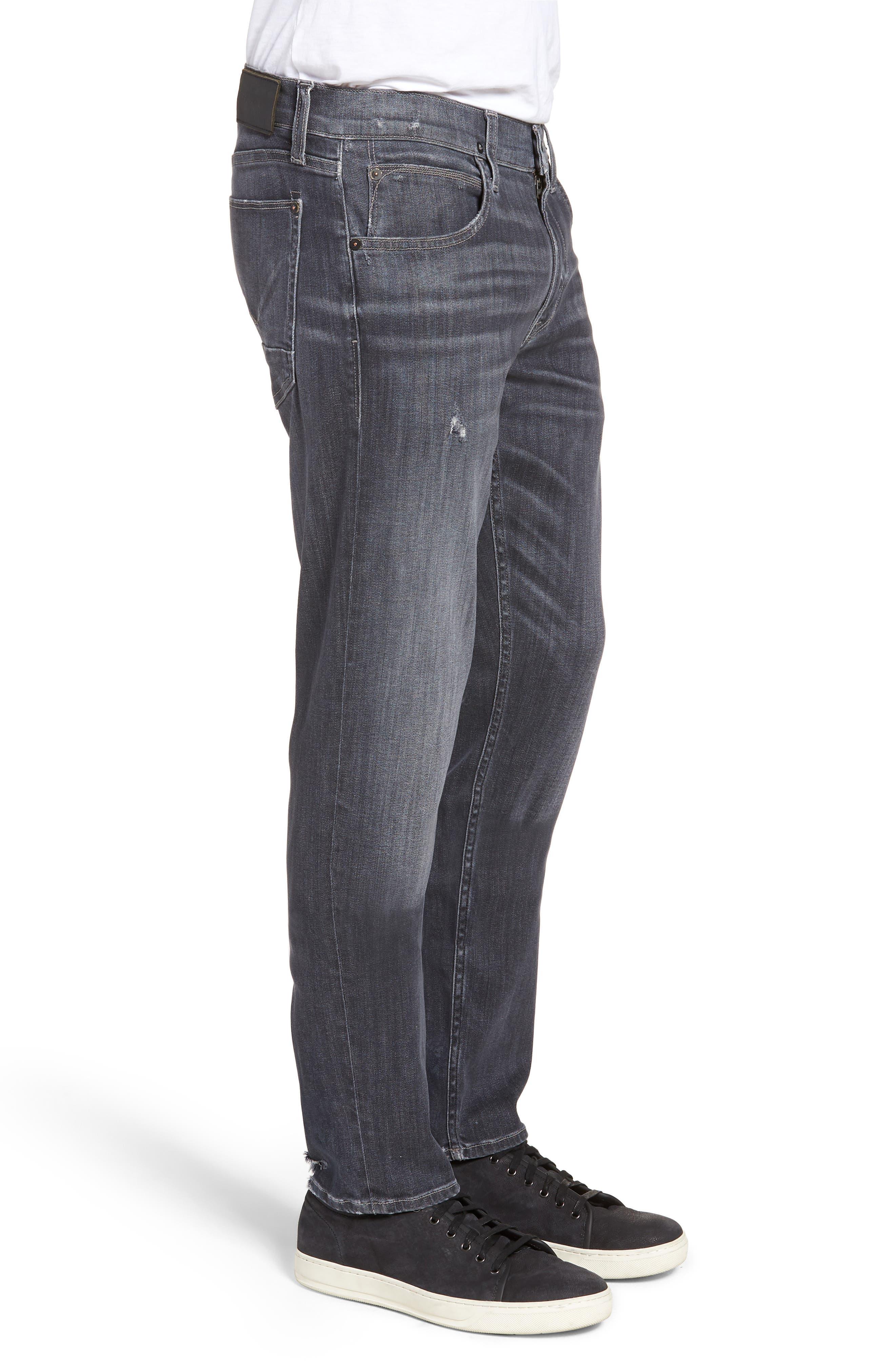 Blake Slim Fit Jeans,                             Alternate thumbnail 3, color,                             Silver Lake
