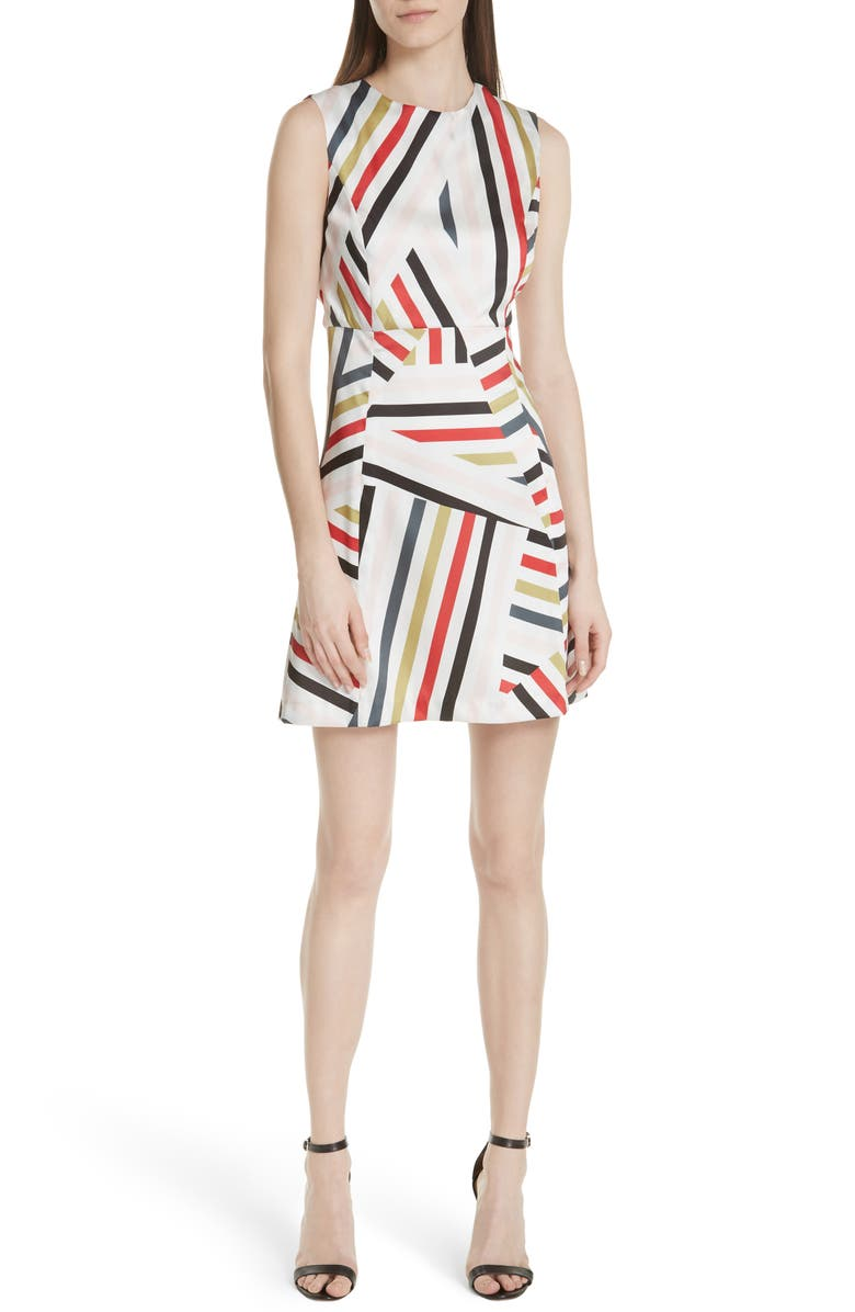 Alexa Drive Stripe A-Line Dress