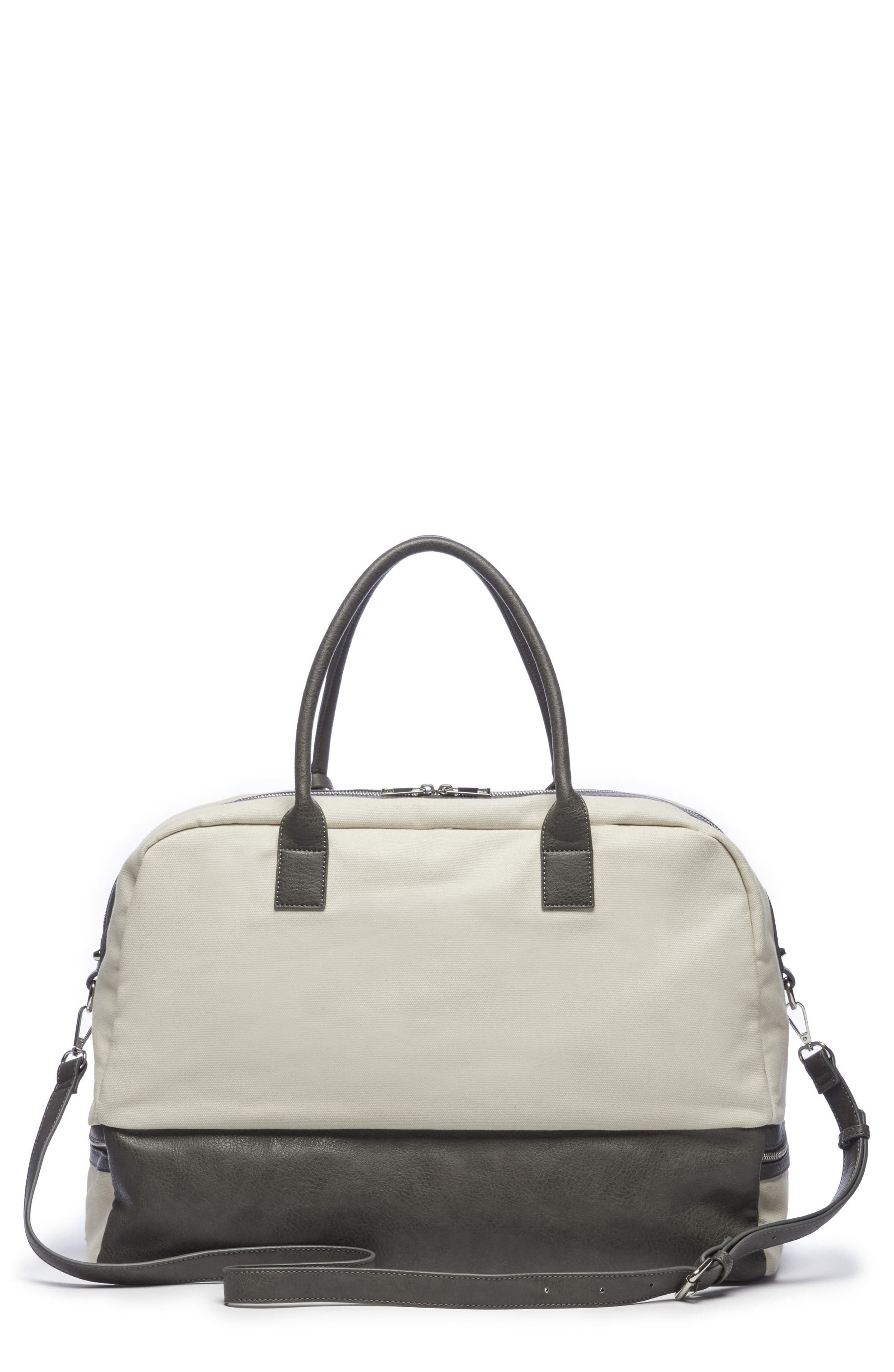 Sole Society Faux Leather Weekend Bag