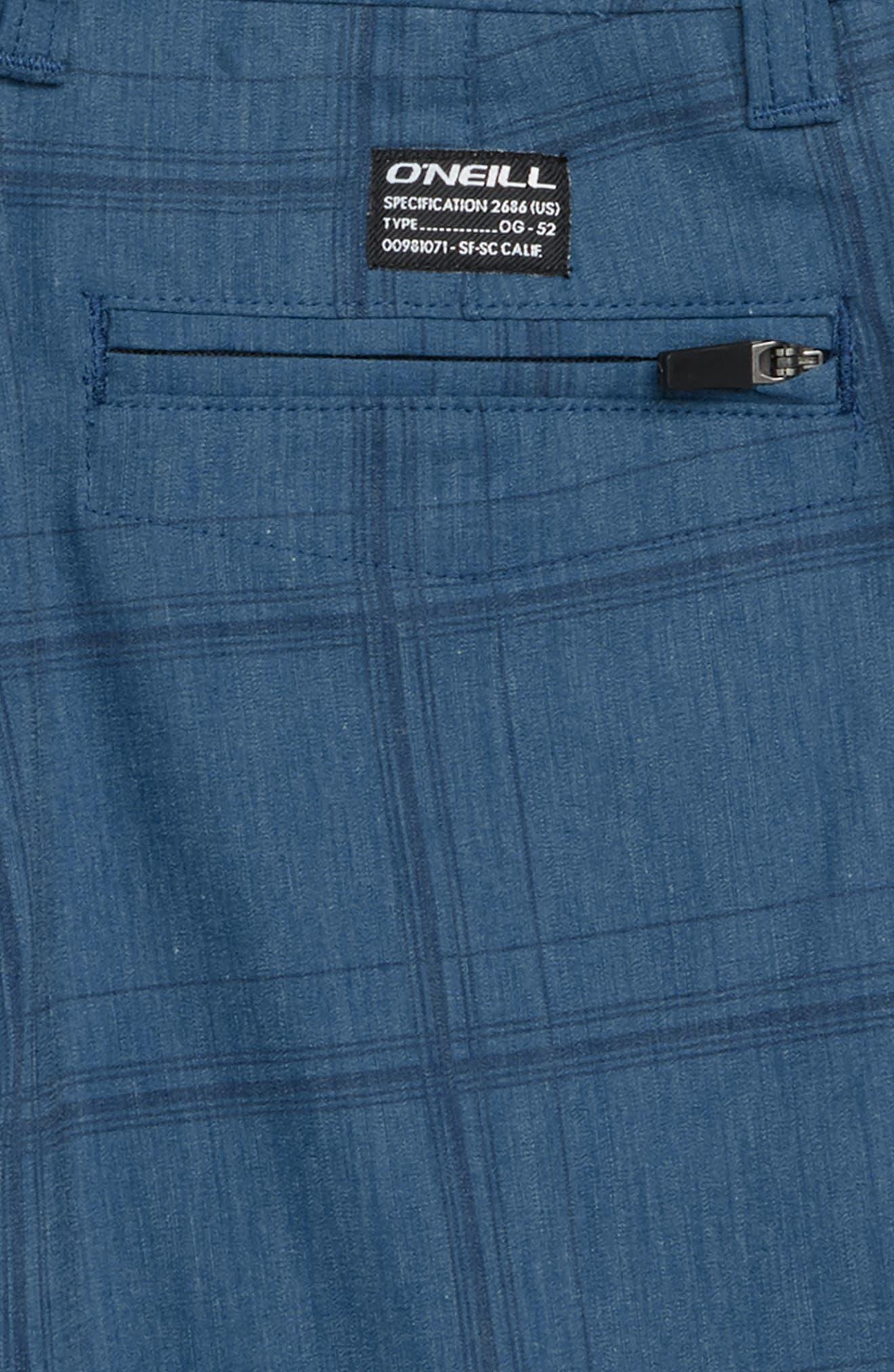 Mixed Hybrid Shorts,                             Alternate thumbnail 3, color,                             Dark Blue