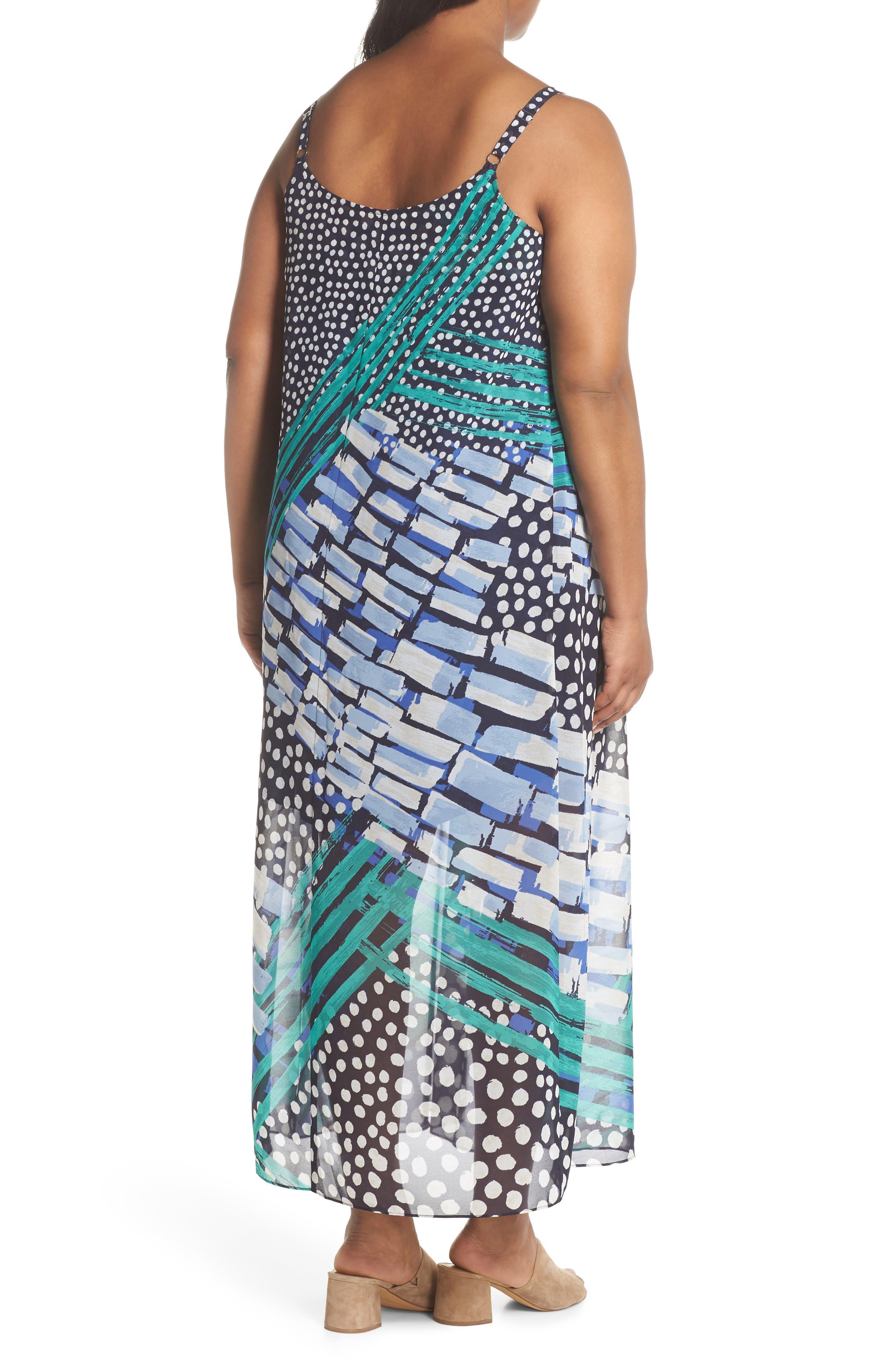 Bloom Me Away Print Maxi Dress,                             Alternate thumbnail 2, color,                             Multi
