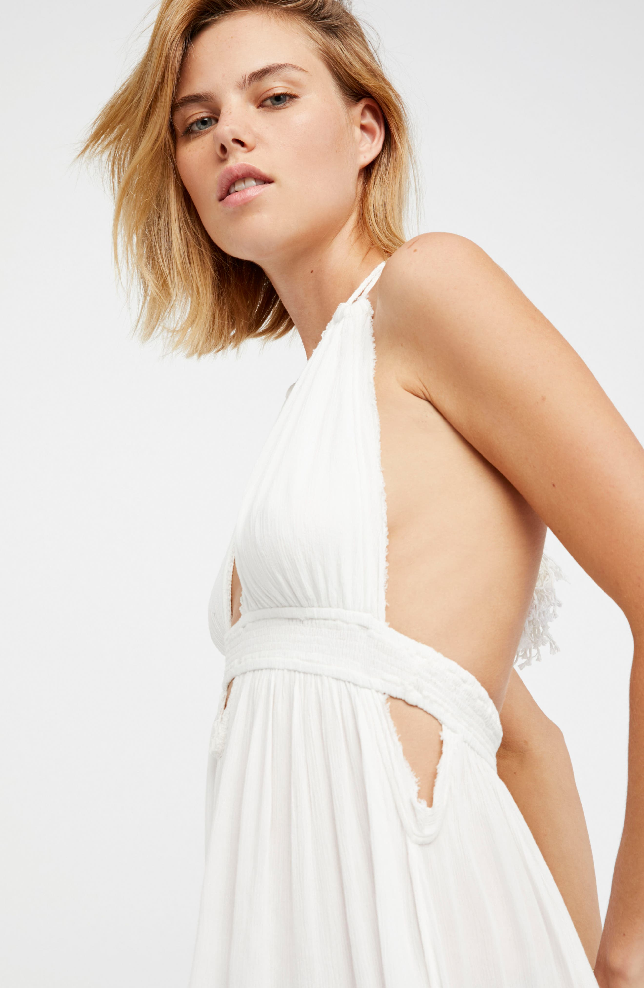 Endless Summer by Free People Look into the Sun Maxi Dress,                             Alternate thumbnail 2, color,                             Ivory