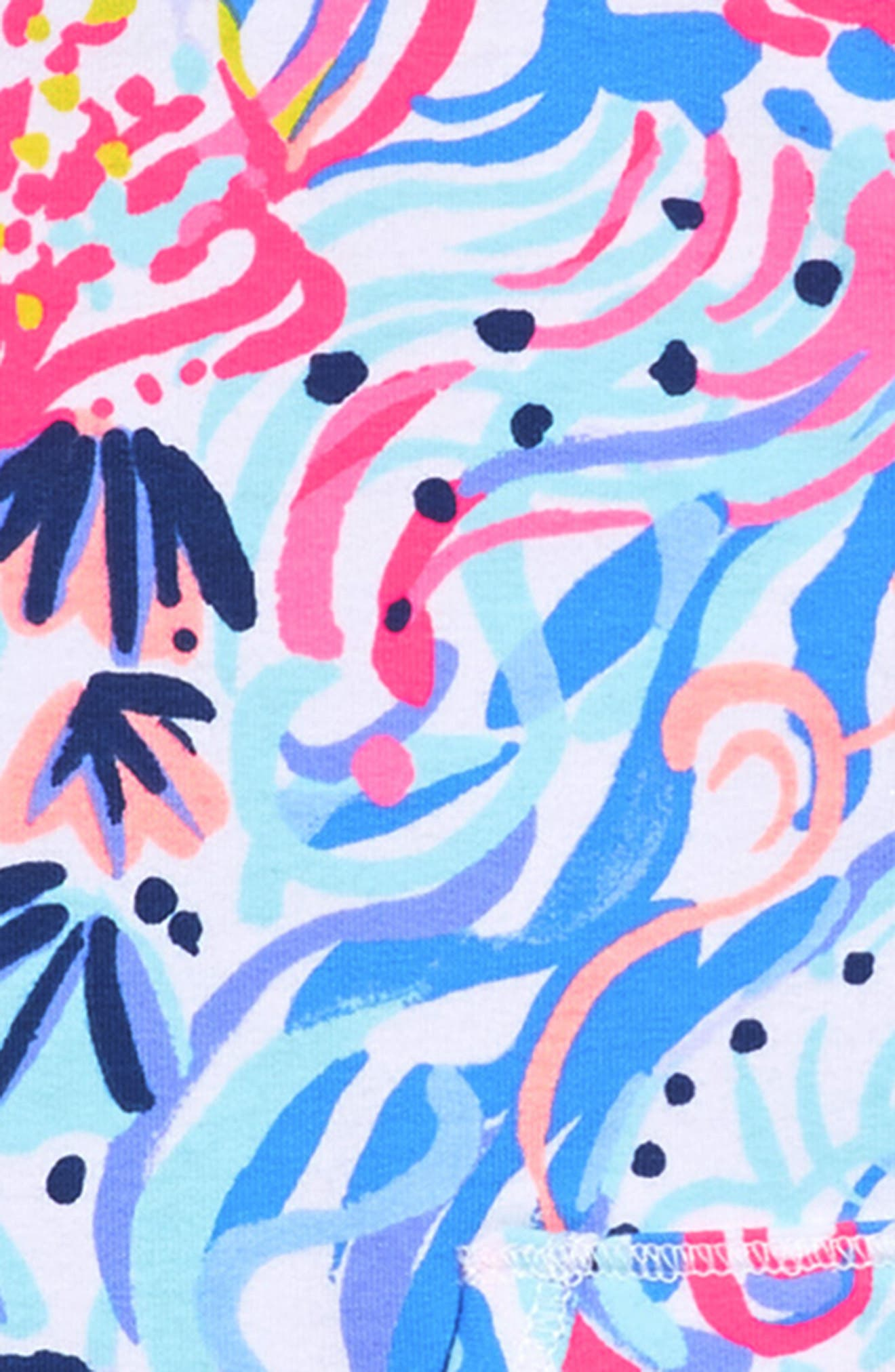 Mini Skipper Shift Dress,                             Alternate thumbnail 3, color,                             Multi