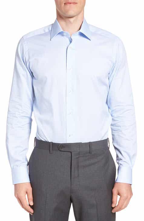 b464dfe5d4f190 Ted Baker London Nickoe Trim Fit Dress Shirt