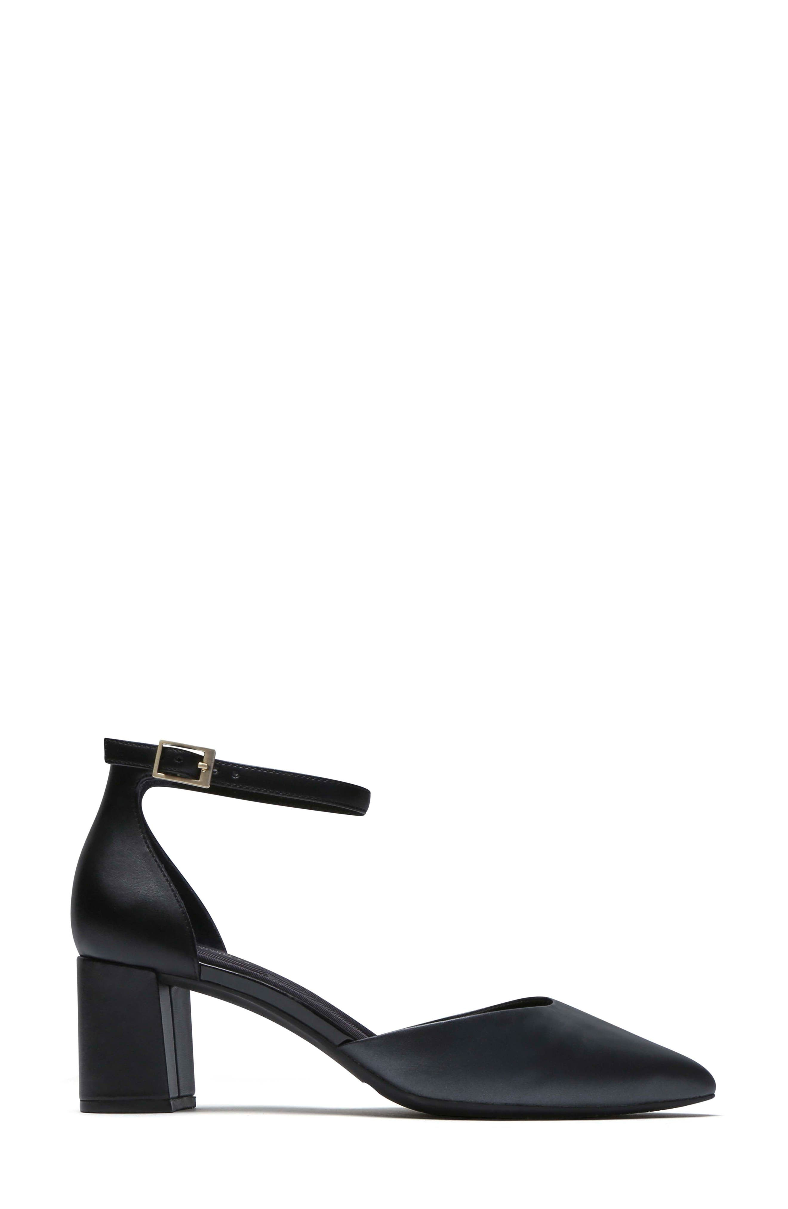 Total Motion<sup>®</sup> Salima Luxe Pump,                             Alternate thumbnail 2, color,                             Black Leather