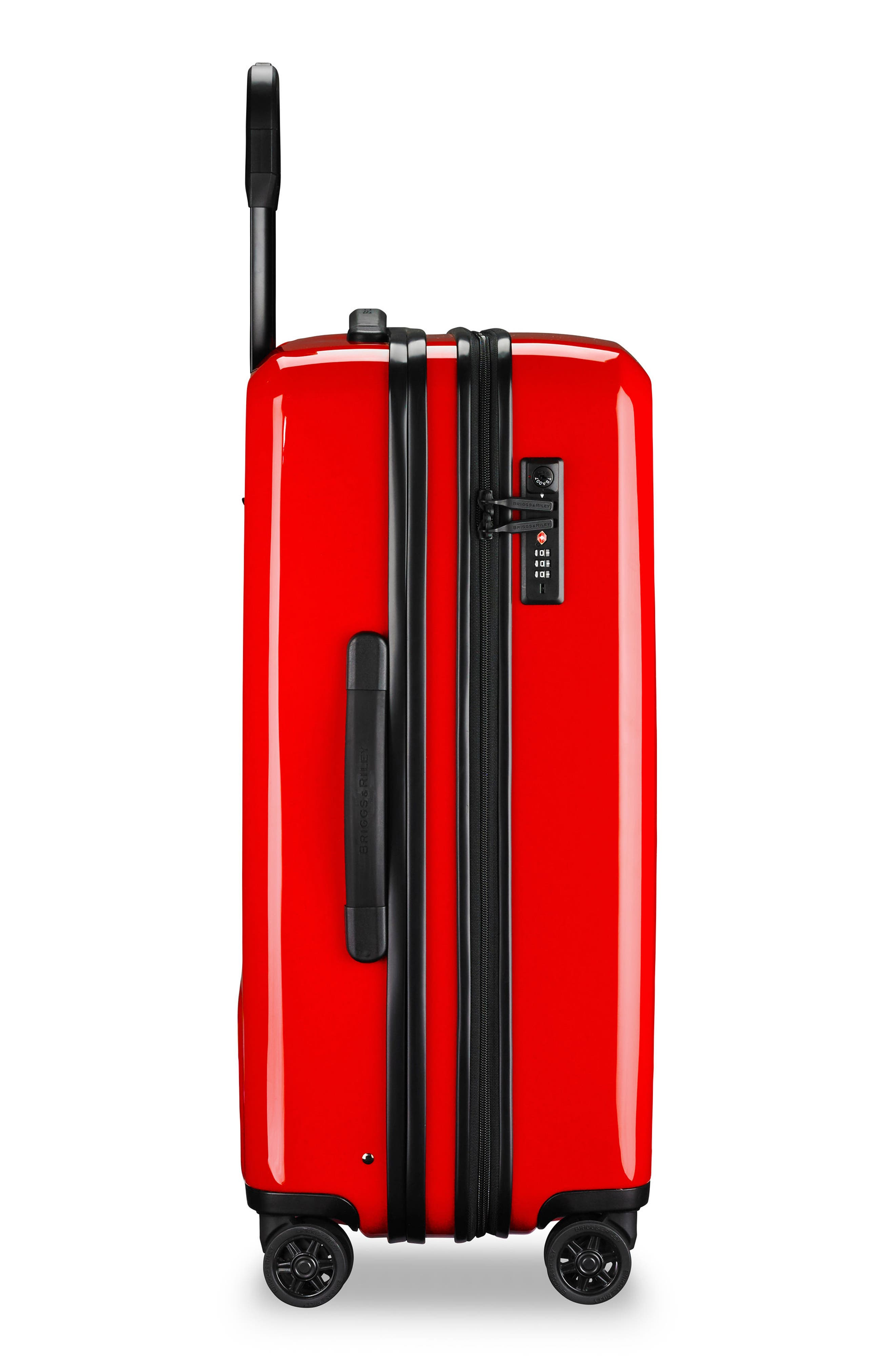 Sympatico 27-Inch Expandable Wheeled Packing Case,                             Alternate thumbnail 4, color,                             Fire