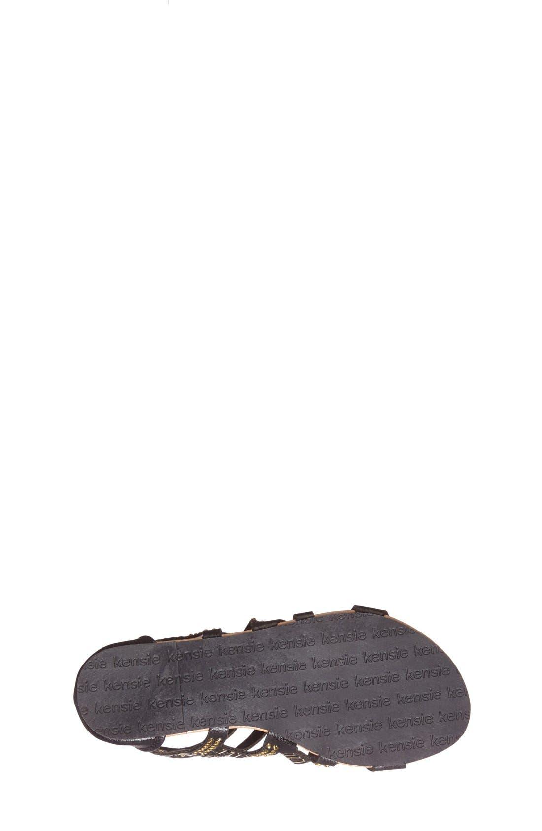 Alternate Image 4  - kensie girl Studded Strap Sandal (Toddler, Little Kid & Big Kid)