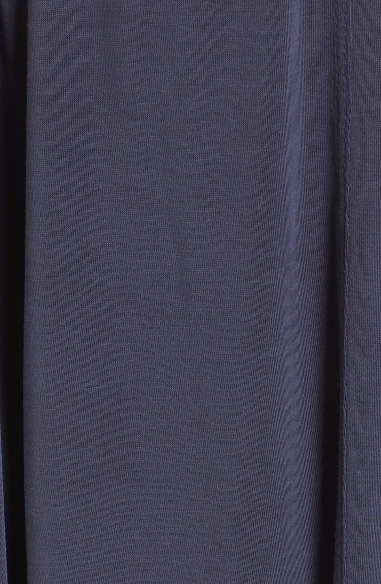 Sandwashed Maxi Dress,                             Alternate thumbnail 6, color,                             Navy