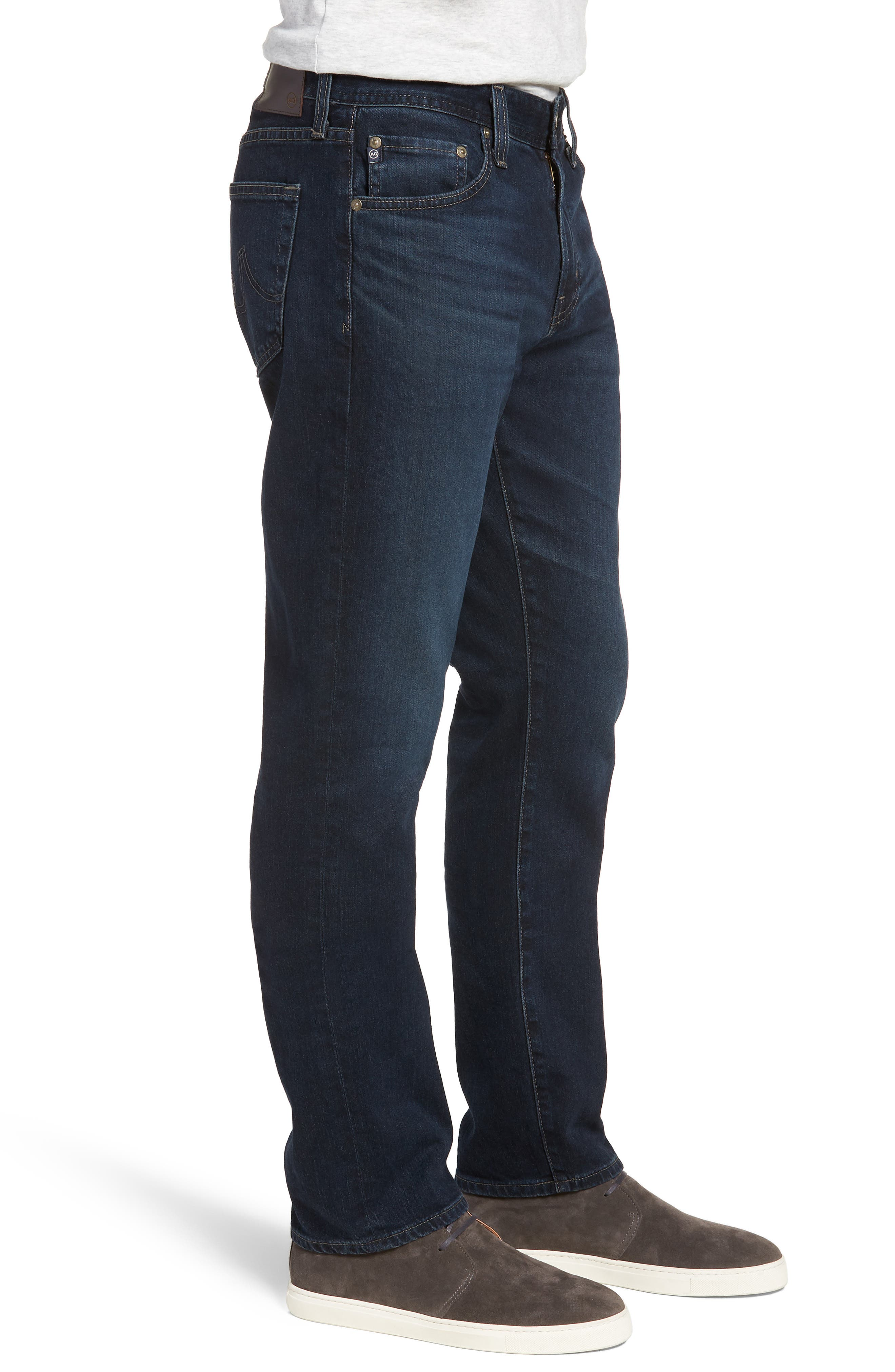 Everett Slim Straight Fit Jeans,                             Alternate thumbnail 3, color,                             Shadow Mountain