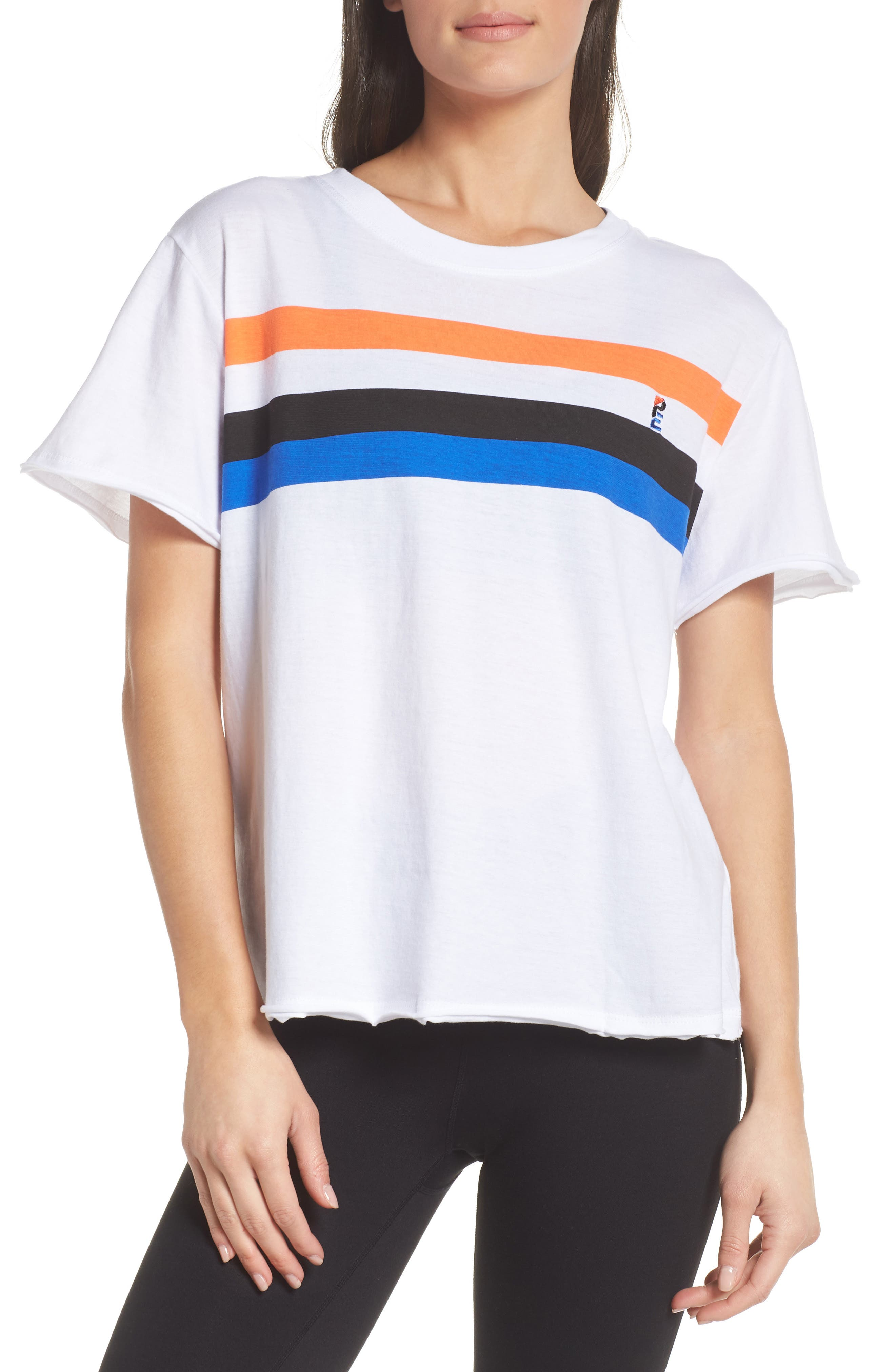 Middle Distance Tee,                         Main,                         color, White