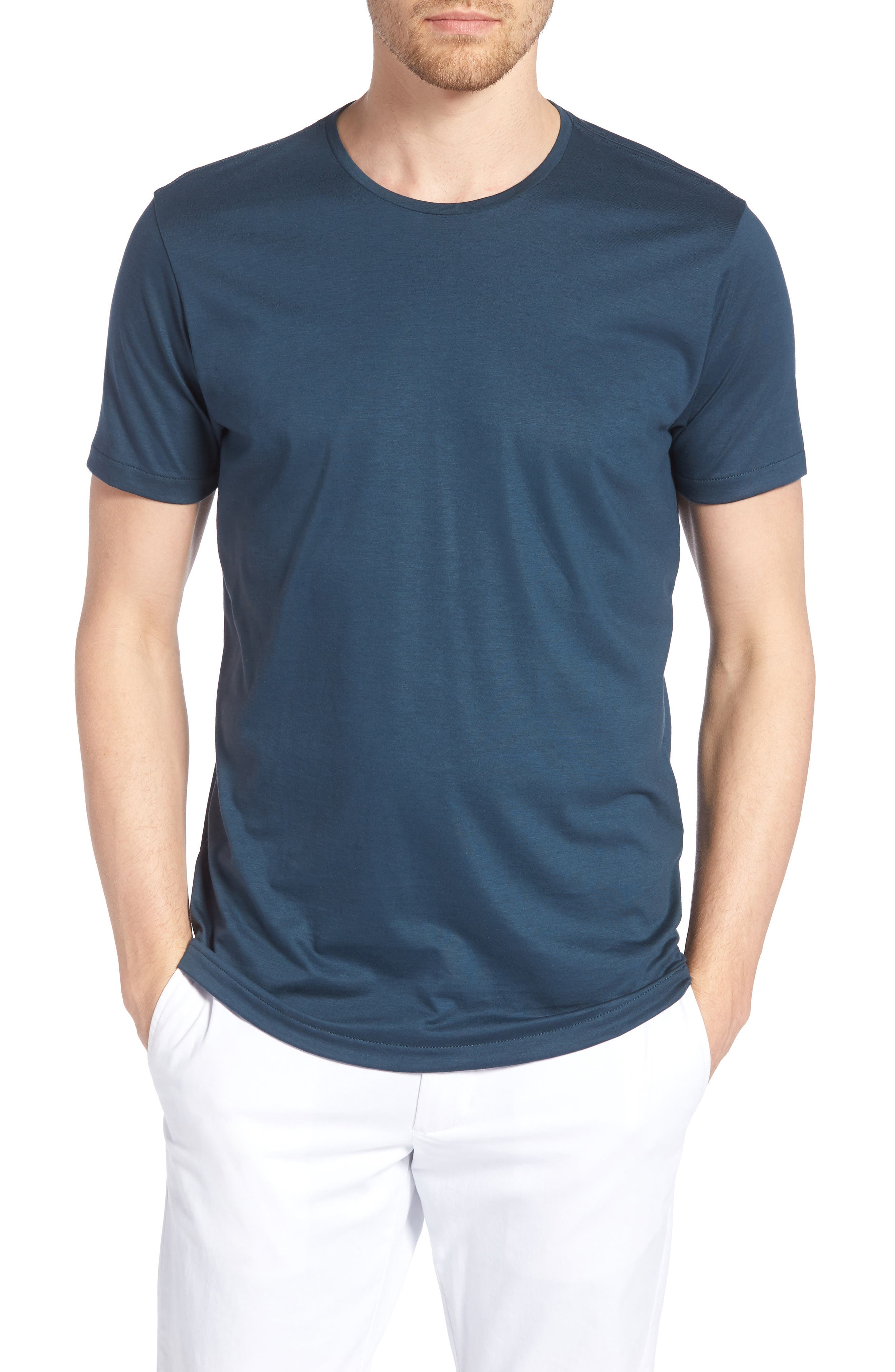 Refined Slim Fit T-Shirt,                         Main,                         color, Lake Front