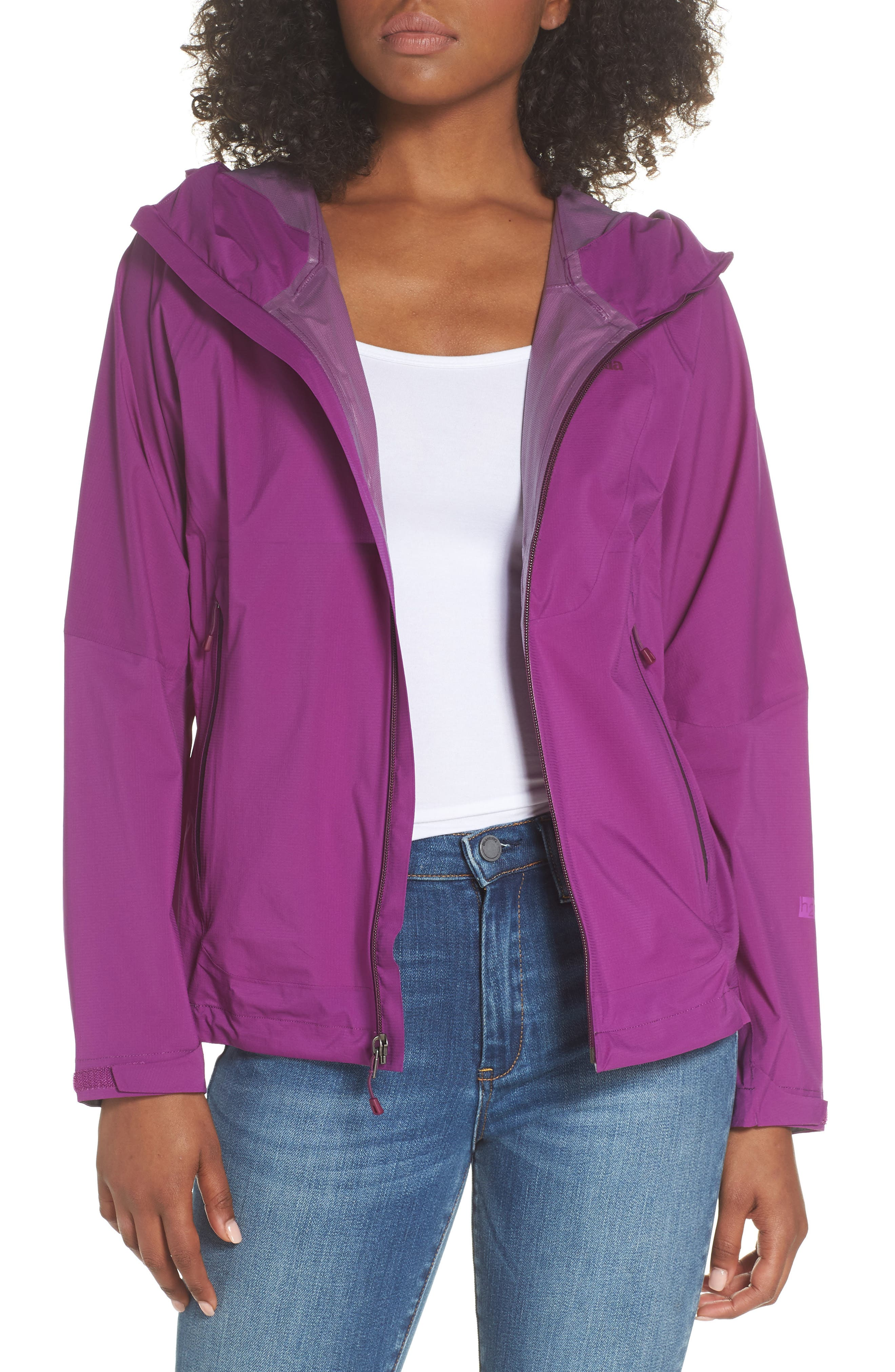 Stretch Rainshadow Jacket,                         Main,                         color, Ikat Purple