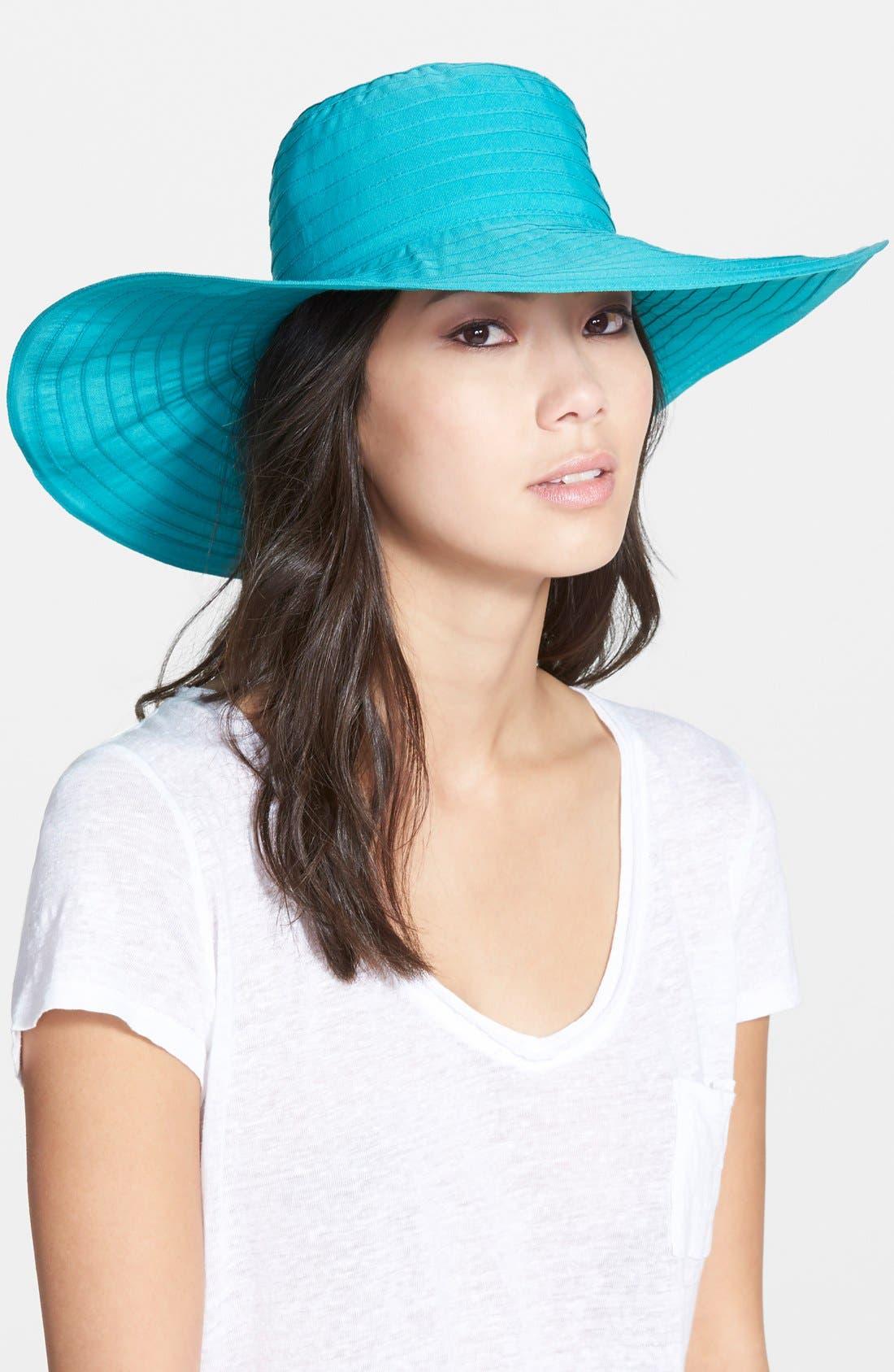 Alternate Image 1 Selected - August Hat 'Ribbons' Sun Hat
