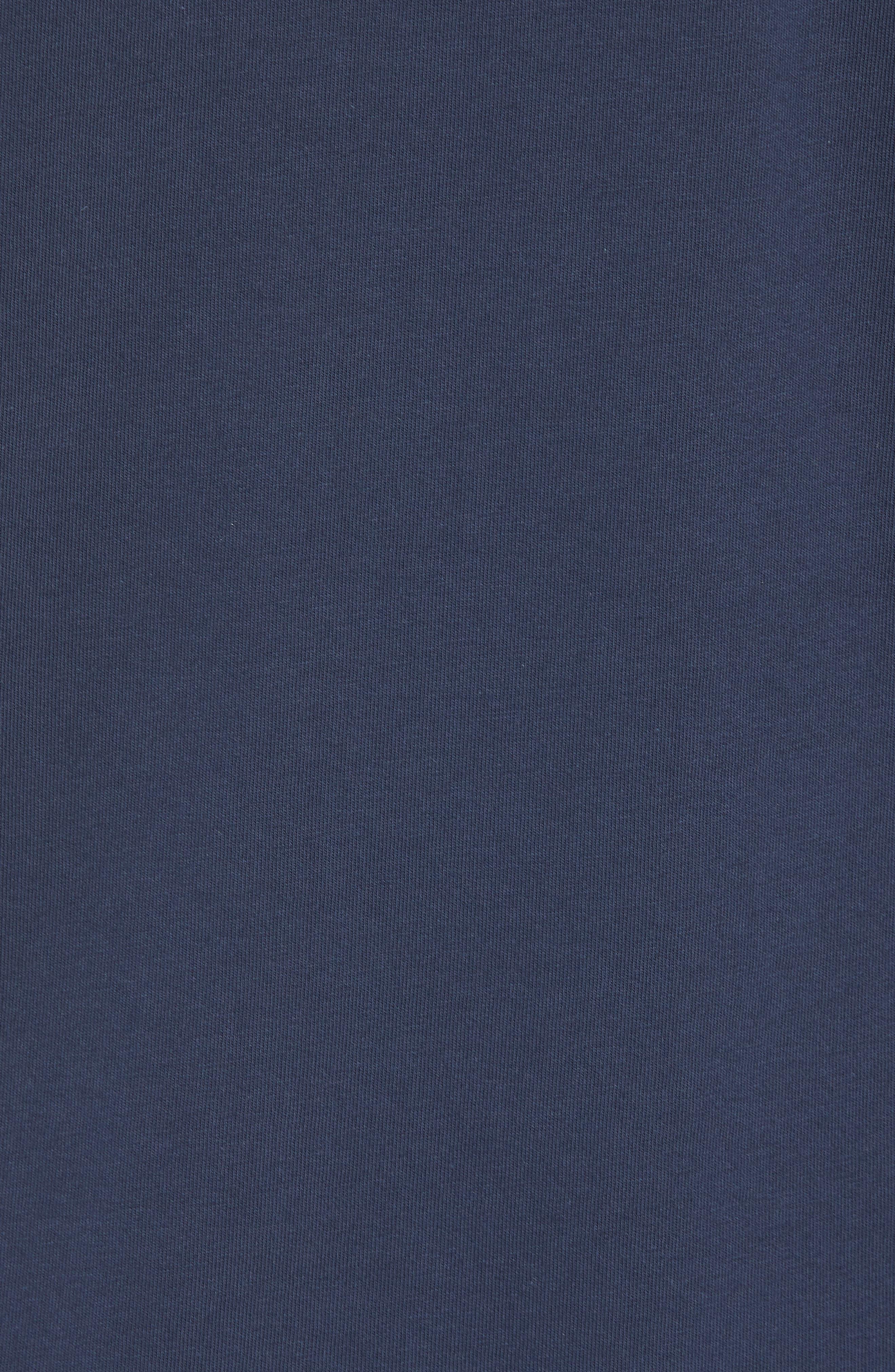 x Shark Week<sup>™</sup> Circling Sharks Pocket T-Shirt,                             Alternate thumbnail 5, color,                             Blue Blazer
