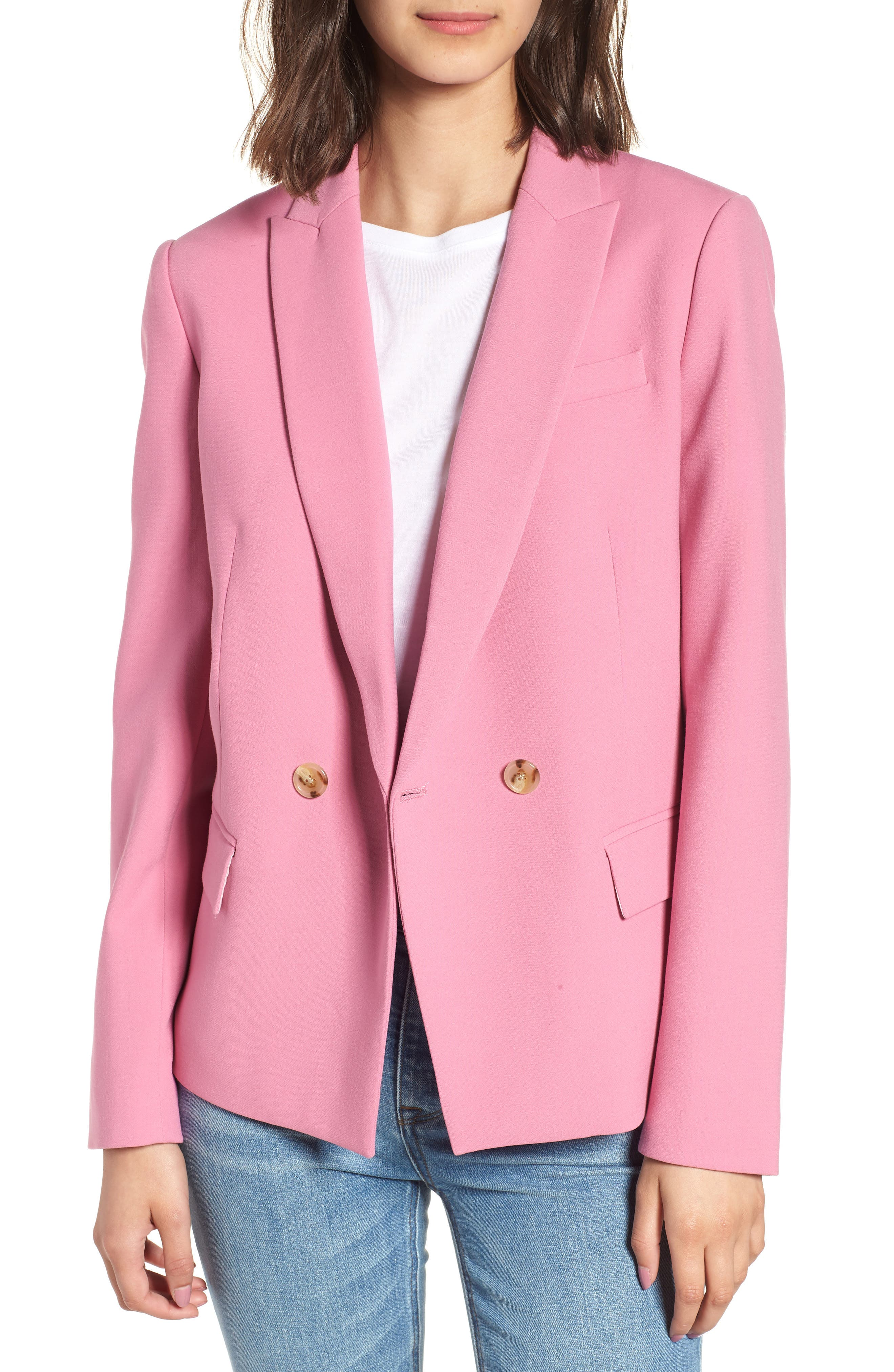 Dover Blazer, Main, color, Pink