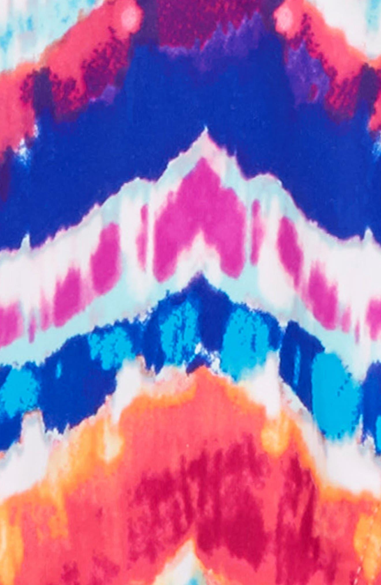Chevron Two-Piece Swimsuit,                             Alternate thumbnail 2, color,                             Multi