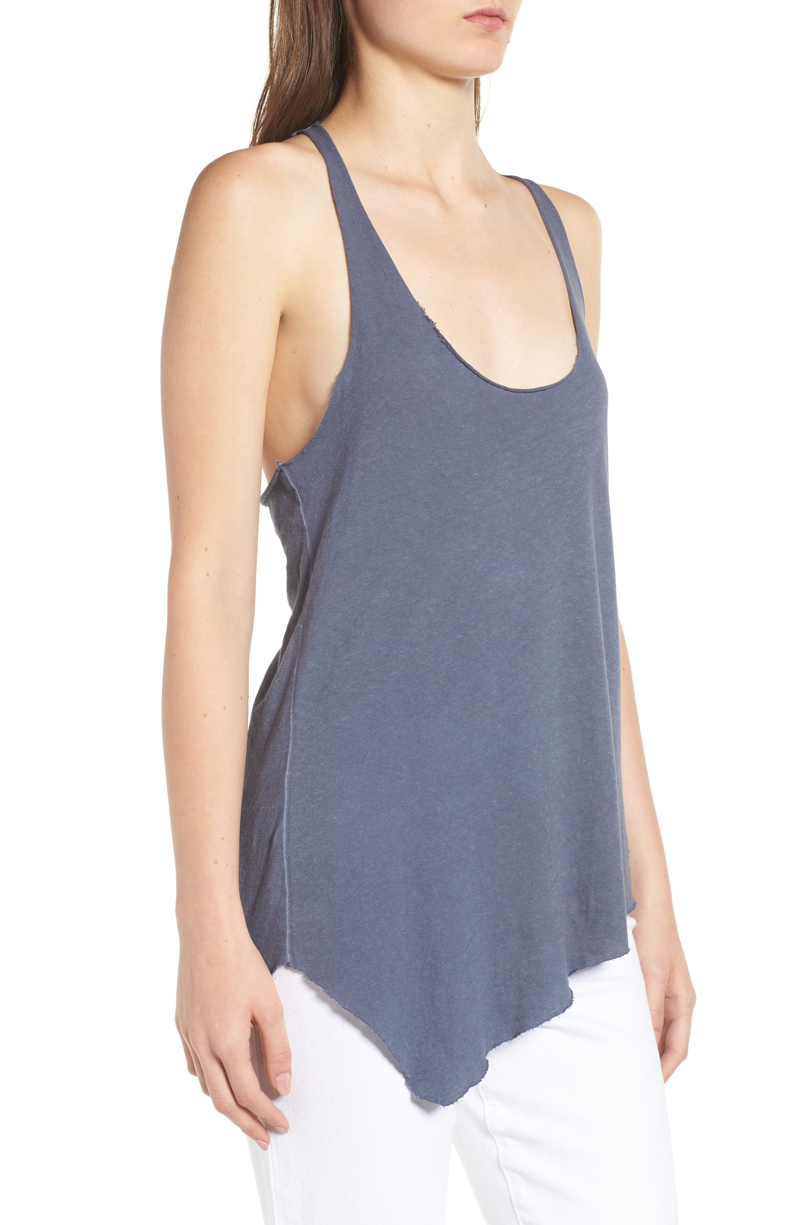 Classic Racerback Tank,                             Alternate thumbnail 6, color,                             Blue