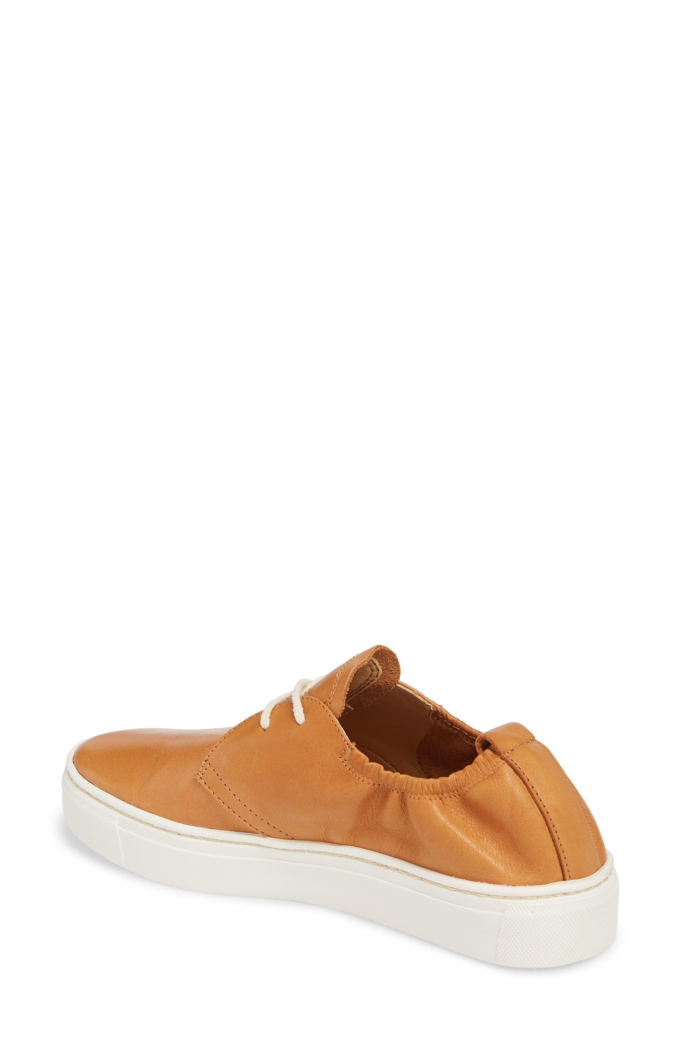Sneak Up Sneaker,                             Alternate thumbnail 2, color,                             Cognac Leather