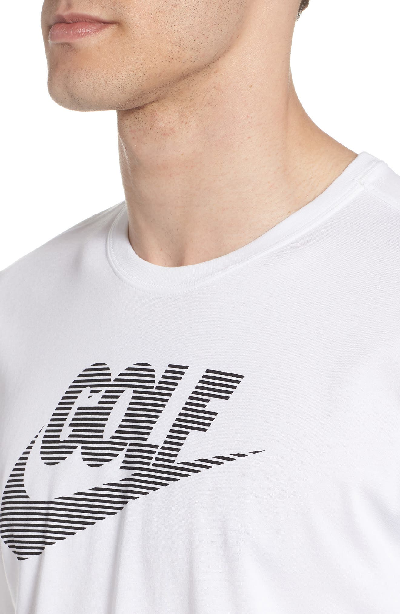 Dry Lockup T-Shirt,                             Alternate thumbnail 4, color,                             White/ Black