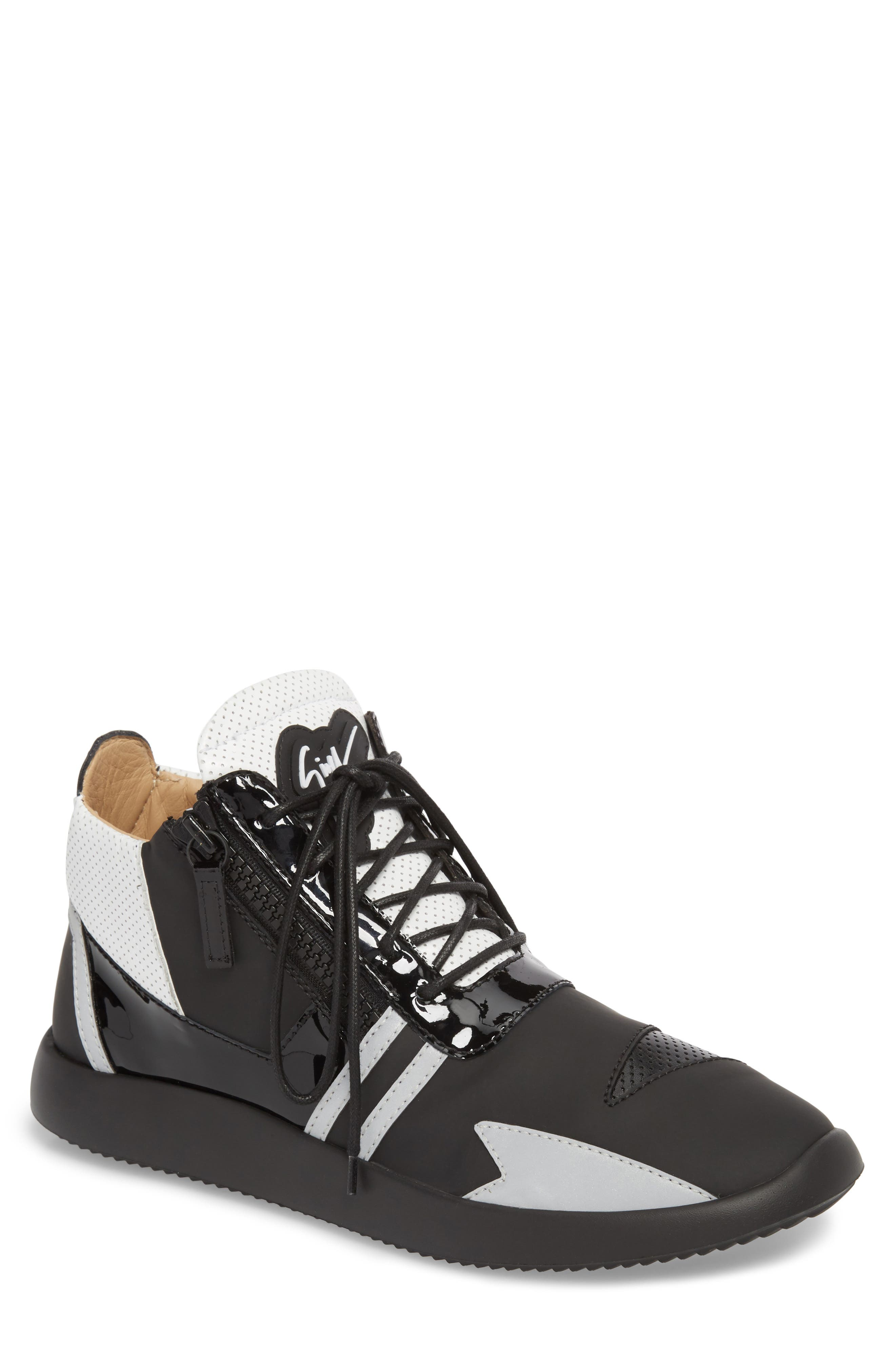 Giuseppe Zanotti High Top Sneaker (Men)