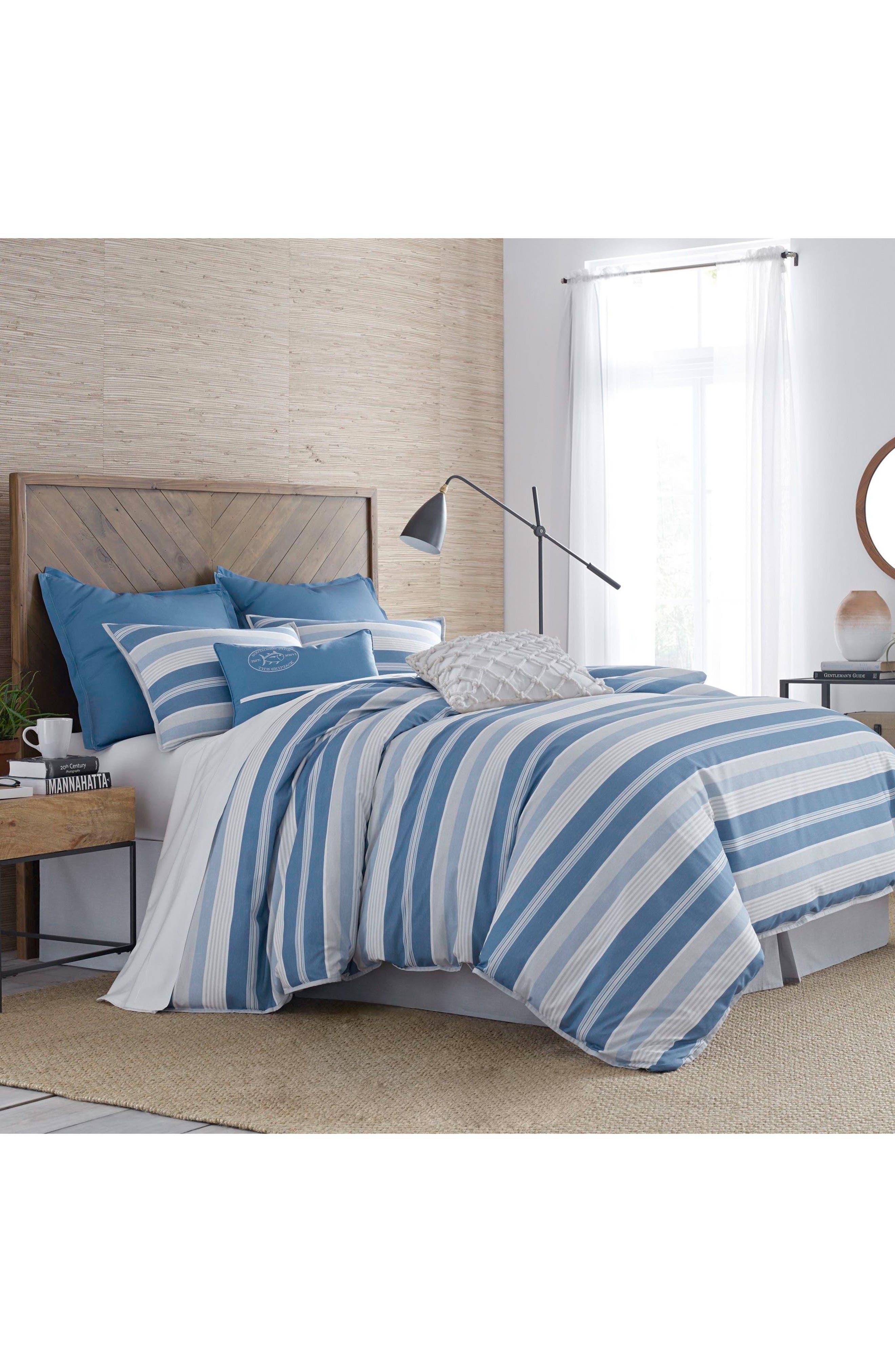 Southern Tide Skipper Stripe Comforter & Sham Set