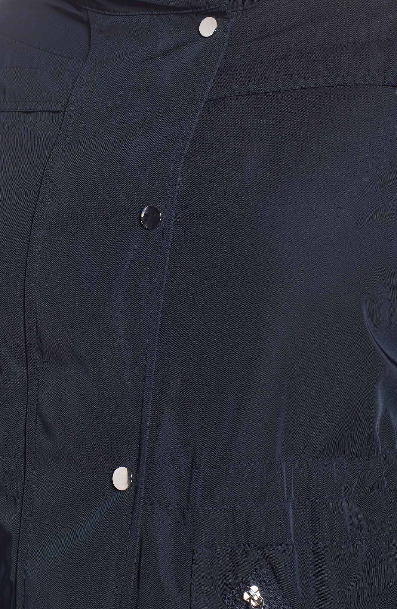 Zip Trim Jacket,                             Alternate thumbnail 4, color,                             Navy Blue