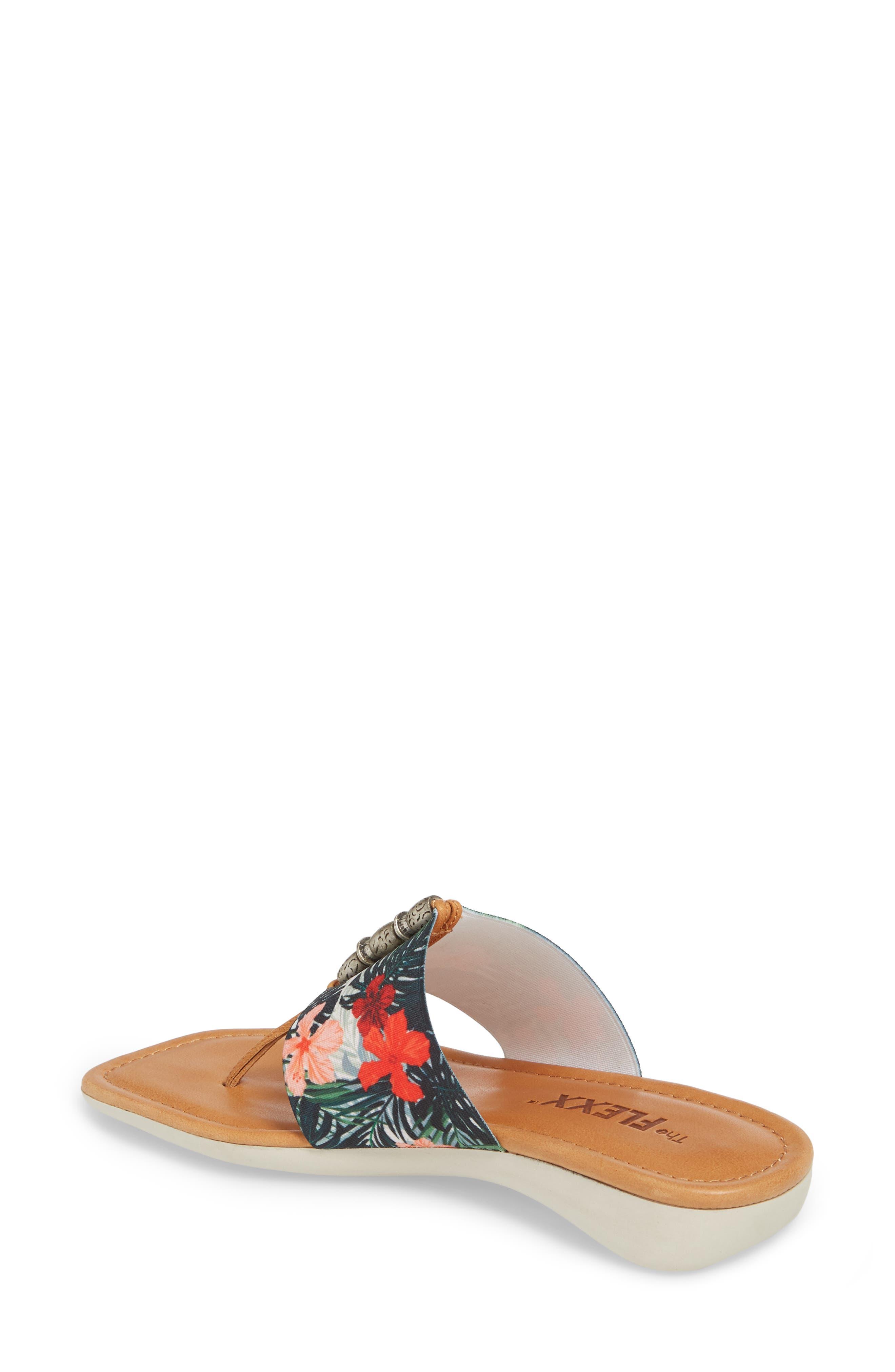 Rain Maker Sandal,                             Alternate thumbnail 2, color,                             Cognac Tropical Leather