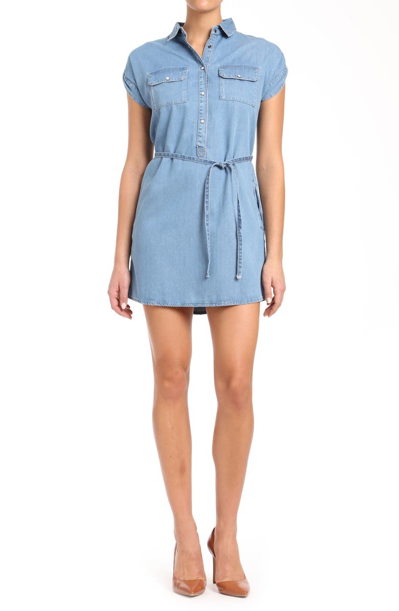 Barbara Chambray Shirtdress