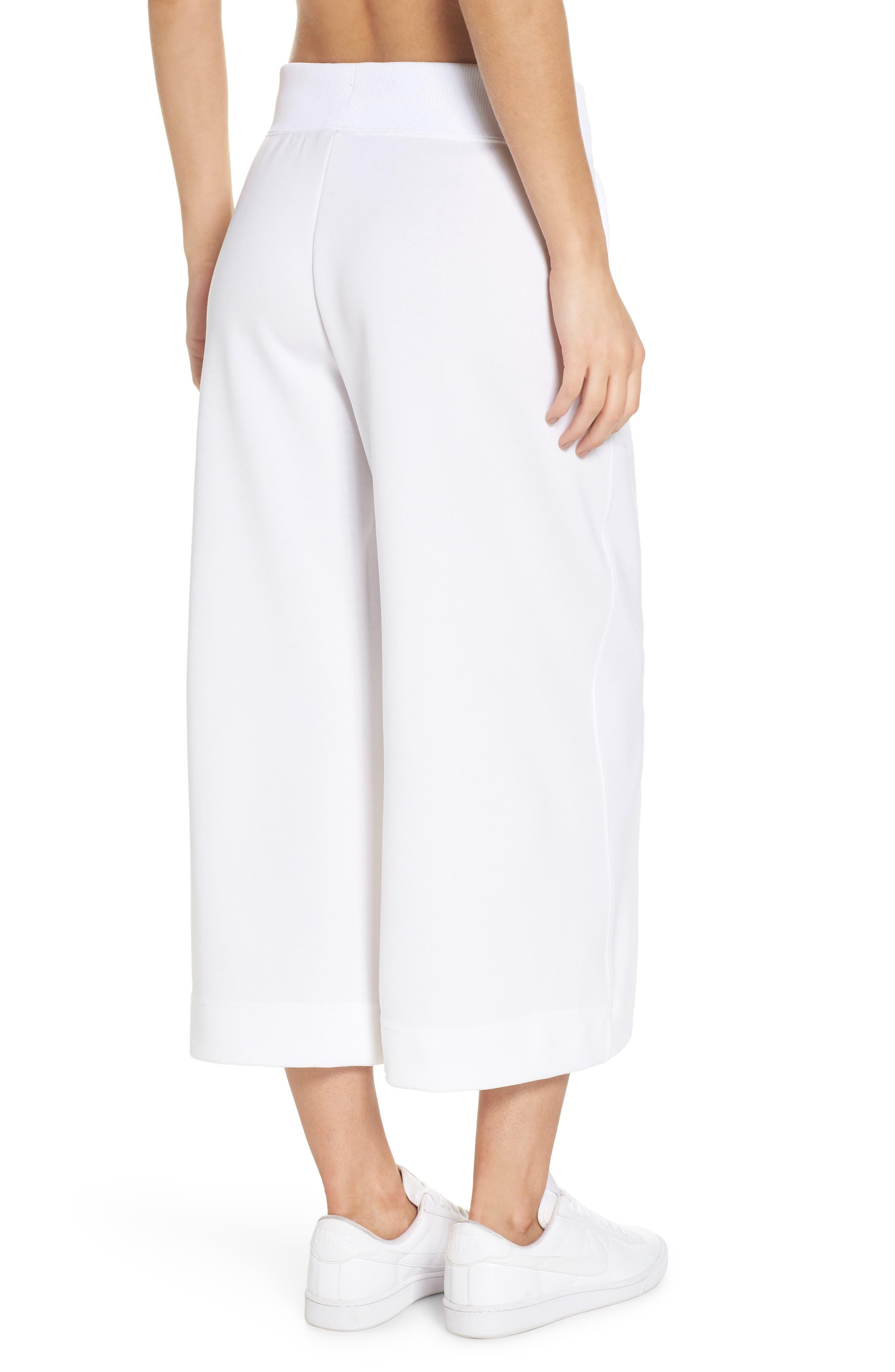 Sportswear Beautiful x Powerful Crop Pants,                             Alternate thumbnail 2, color,                             White