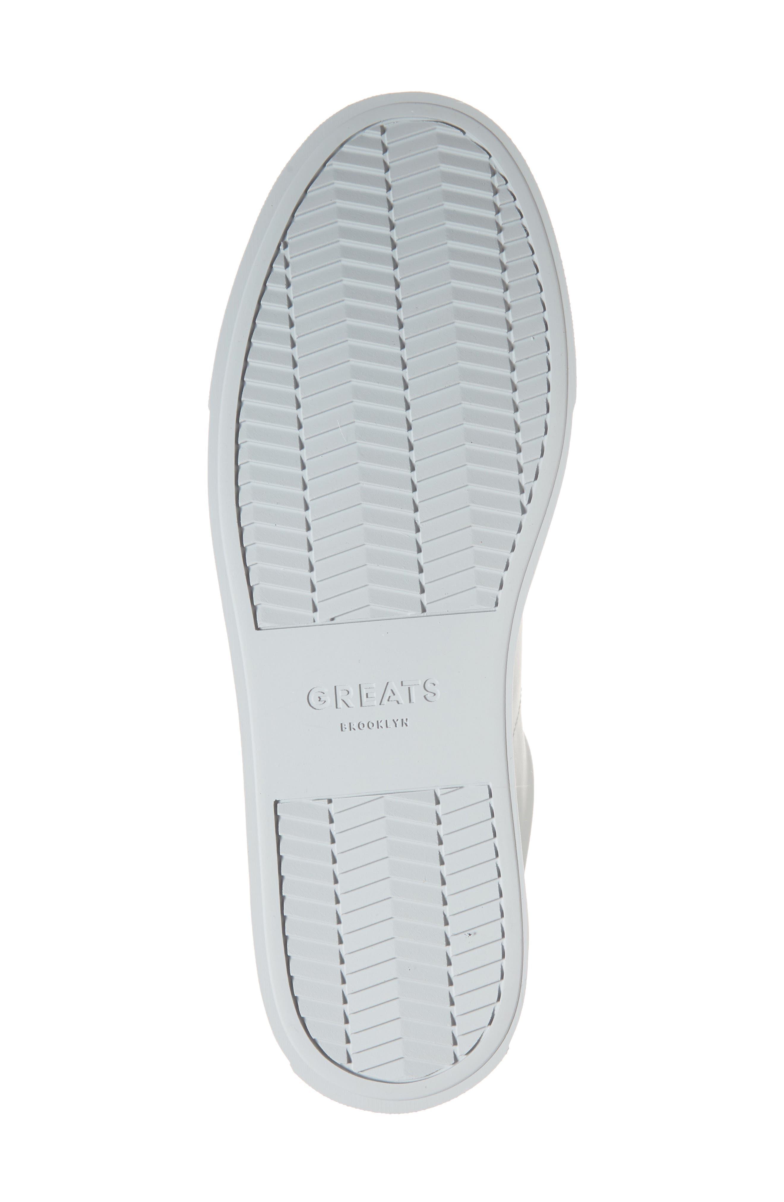 Royale Sneaker,                             Alternate thumbnail 6, color,                             Grey Tonal Leather