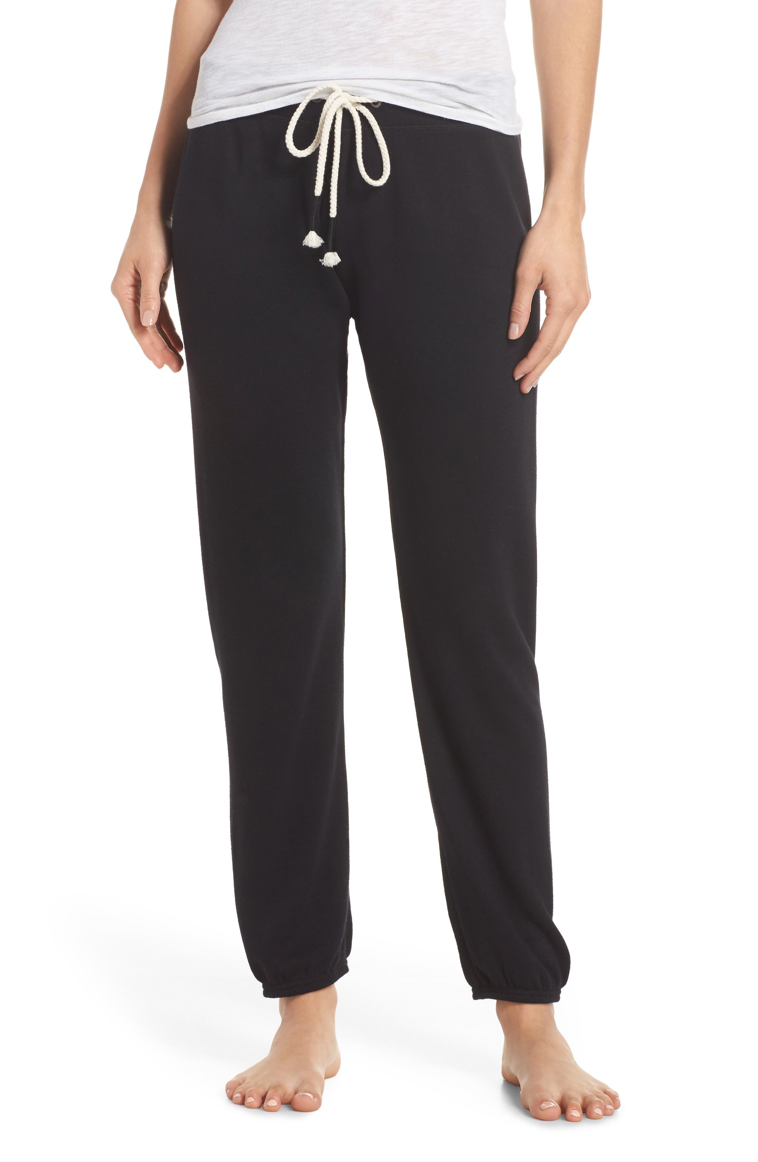 Dreamy Fleece Jogger Pants,                         Main,                         color, Black