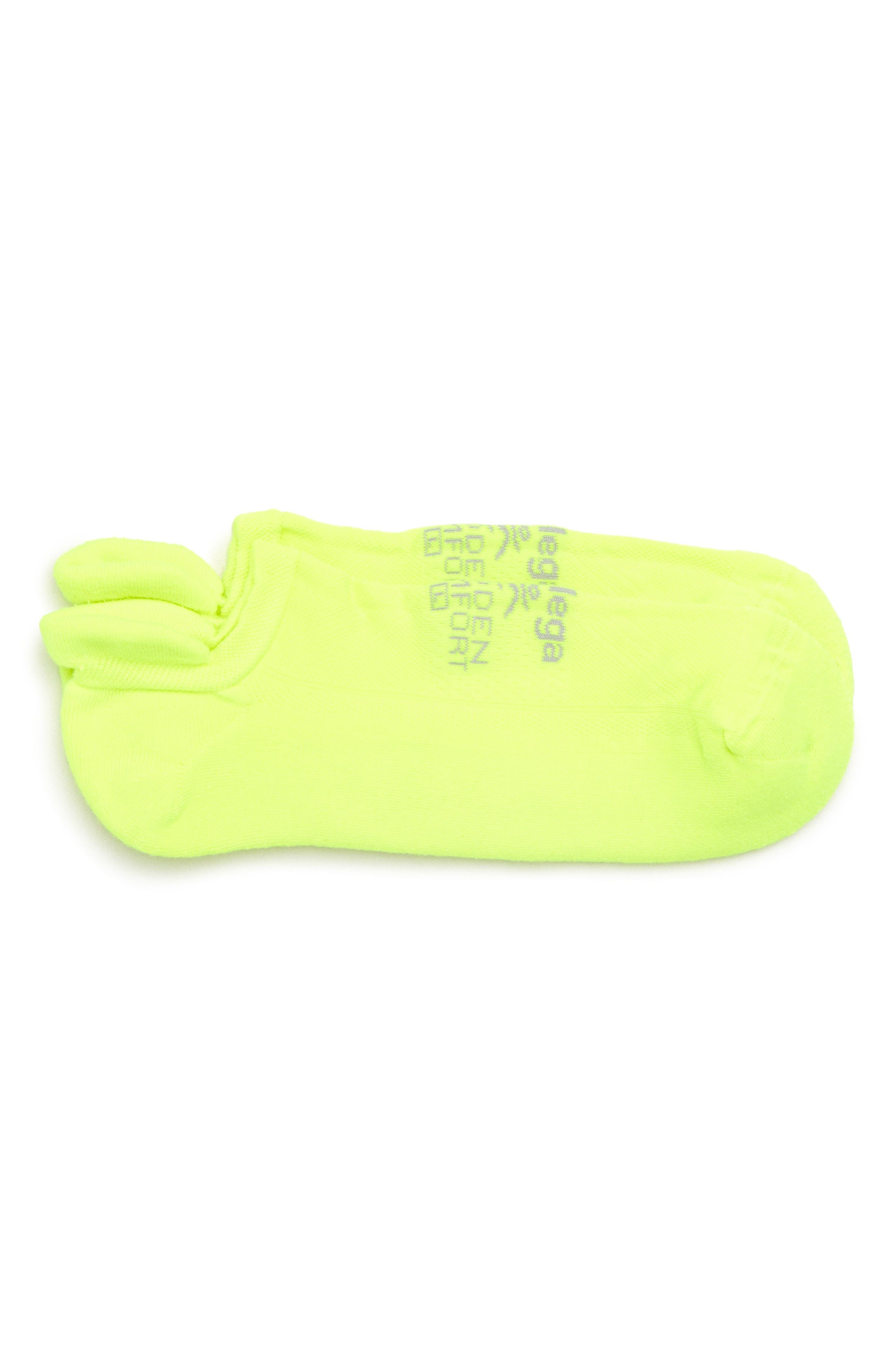 Hidden Comfort Socks,                         Main,                         color, Zesty Lemon