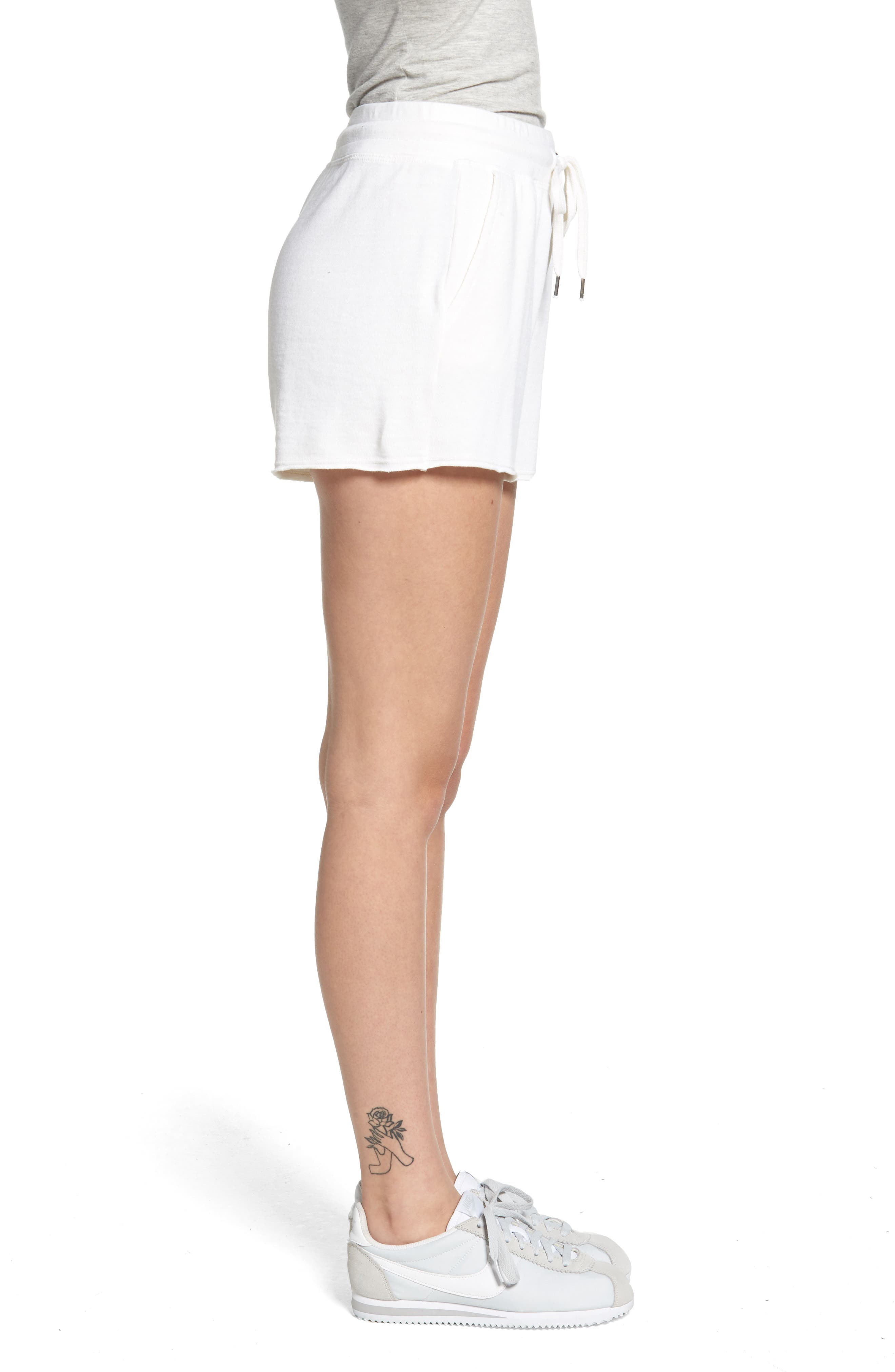 Active Shorts,                             Alternate thumbnail 3, color,                             Off White