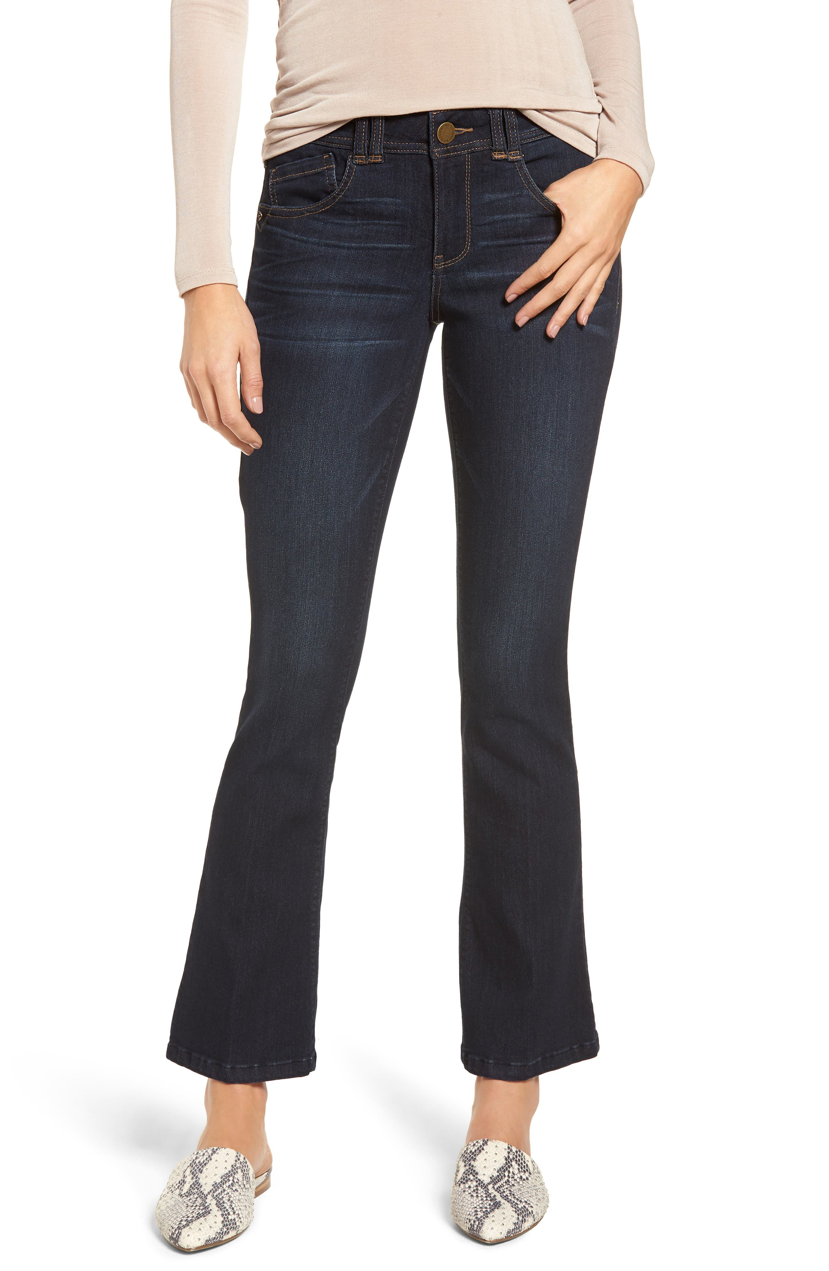 Ab-solution Itty Bitty Bootcut Jeans,                             Main thumbnail 1, color,                             In-Indigo
