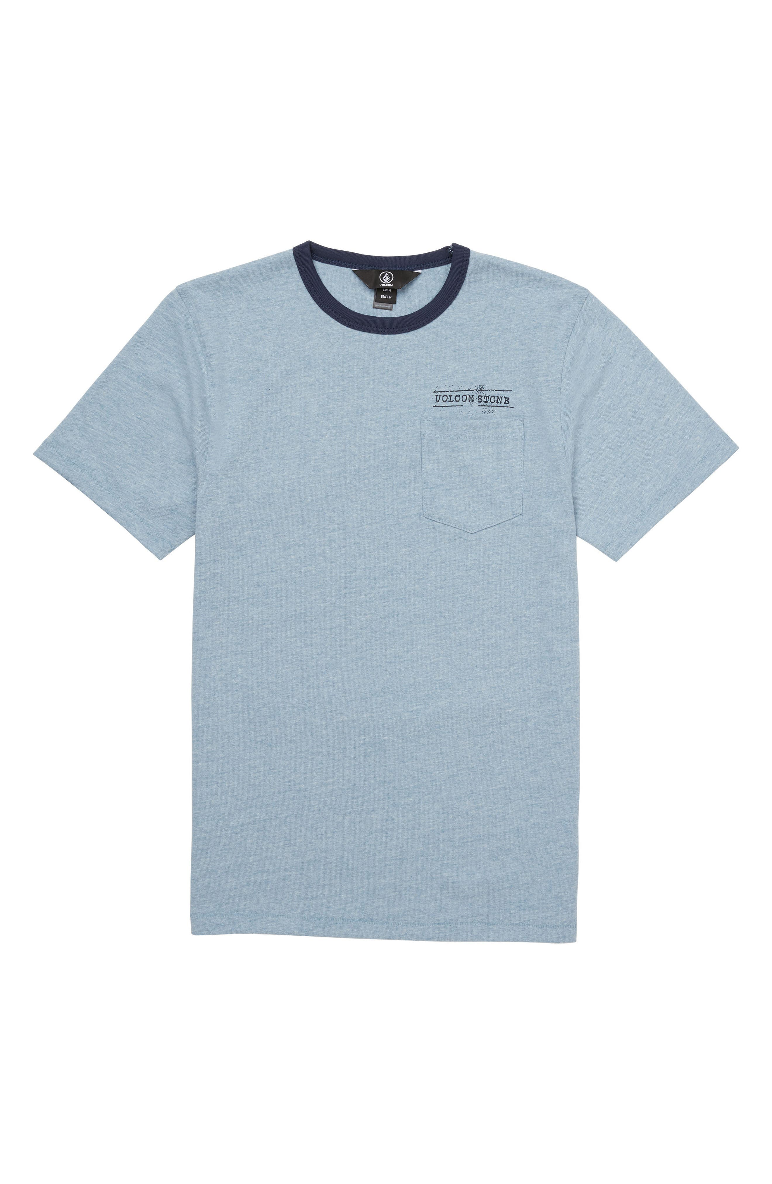 Point Place Crewneck T-Shirt,                         Main,                         color, Indigo