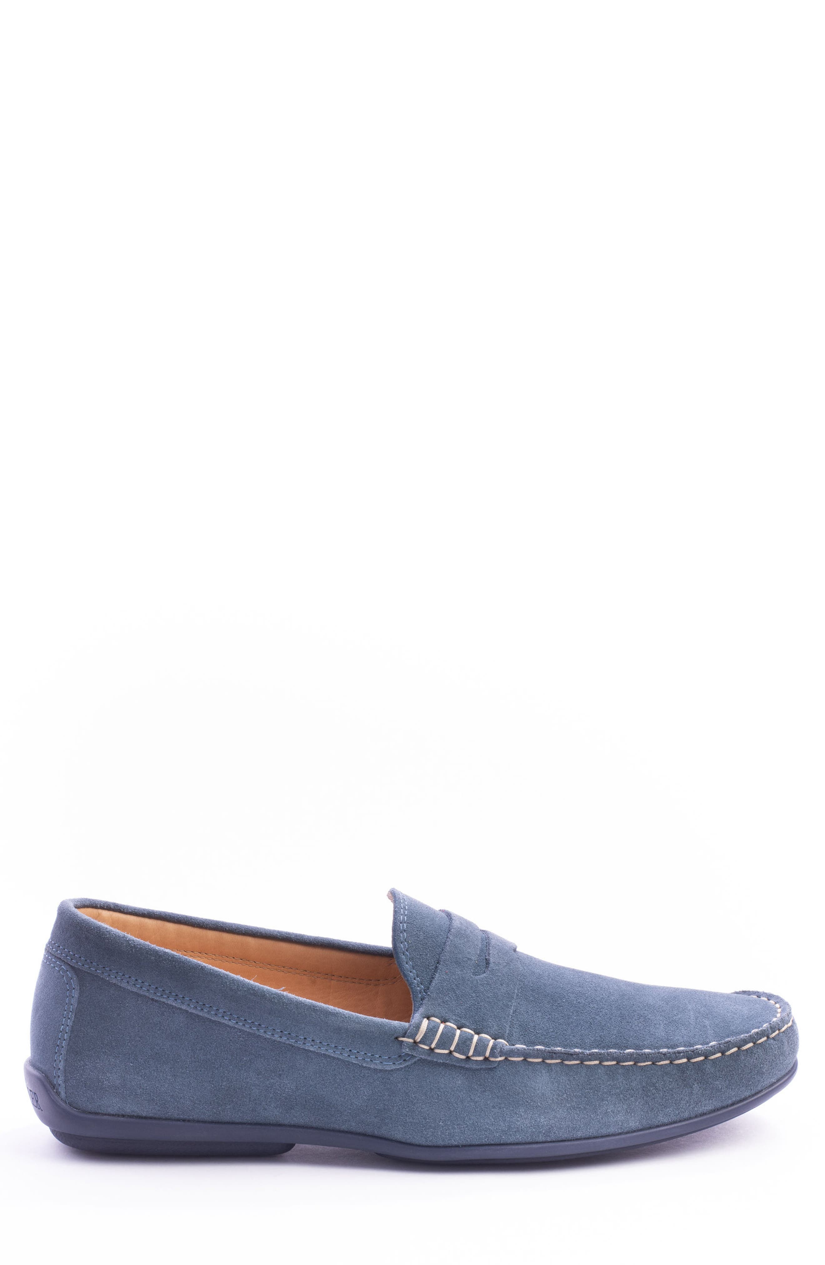 'Parkers' Penny Loafer,                             Alternate thumbnail 3, color,                             Indigo