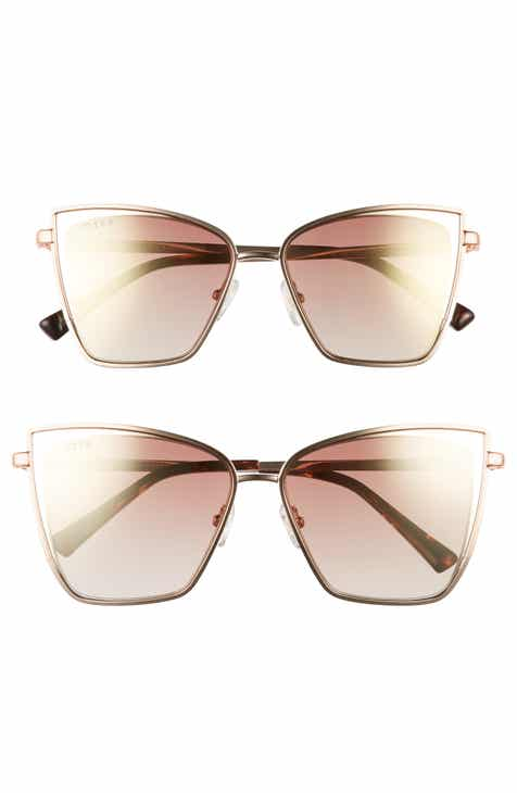 75a9444f2d DIFF Mommy   Me Becky 2-Pack Cat Eye Sunglasses ( 135 Value)