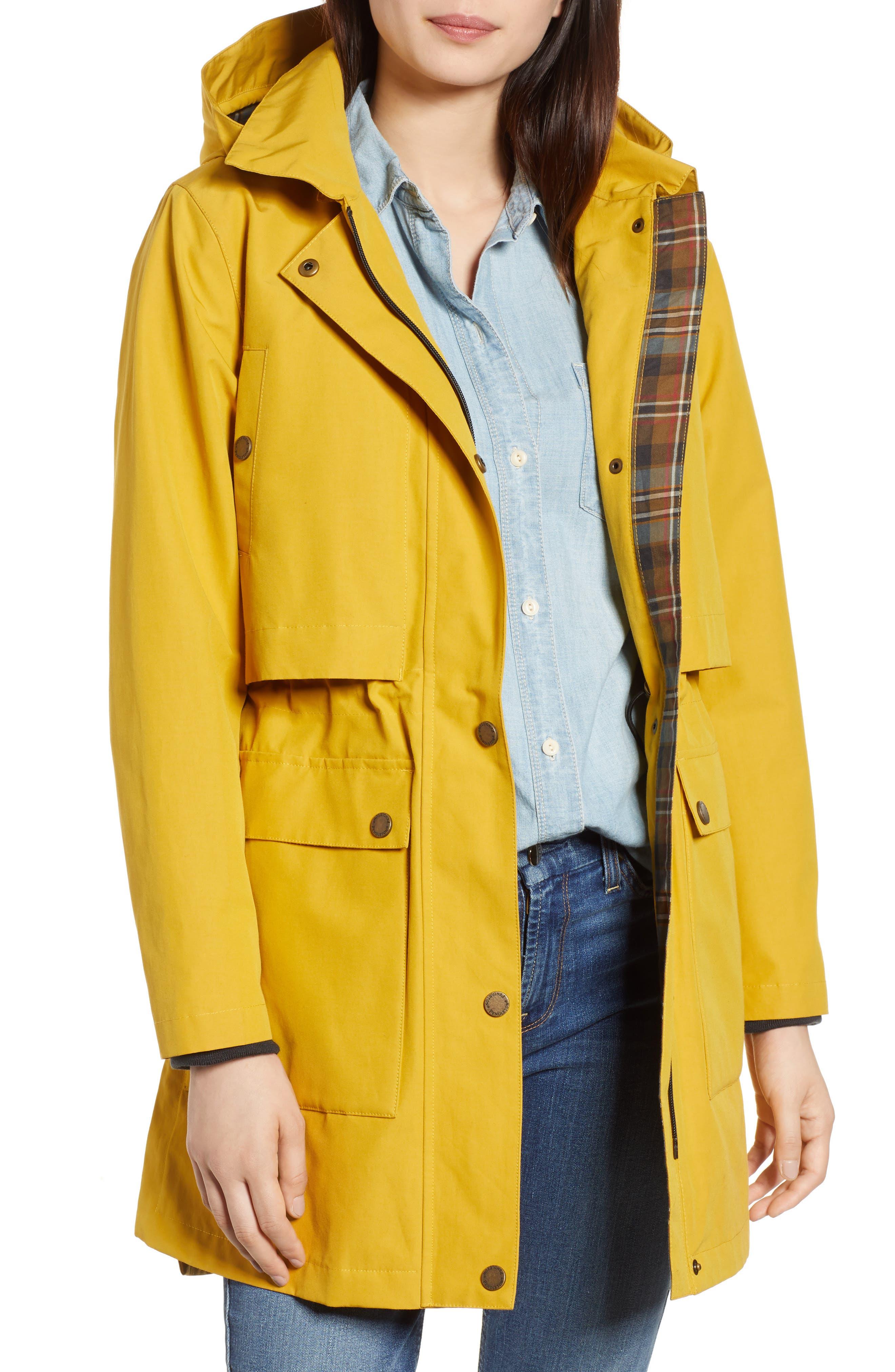 Port Townsend Rain Jacket,                         Main,                         color, Golden Rod