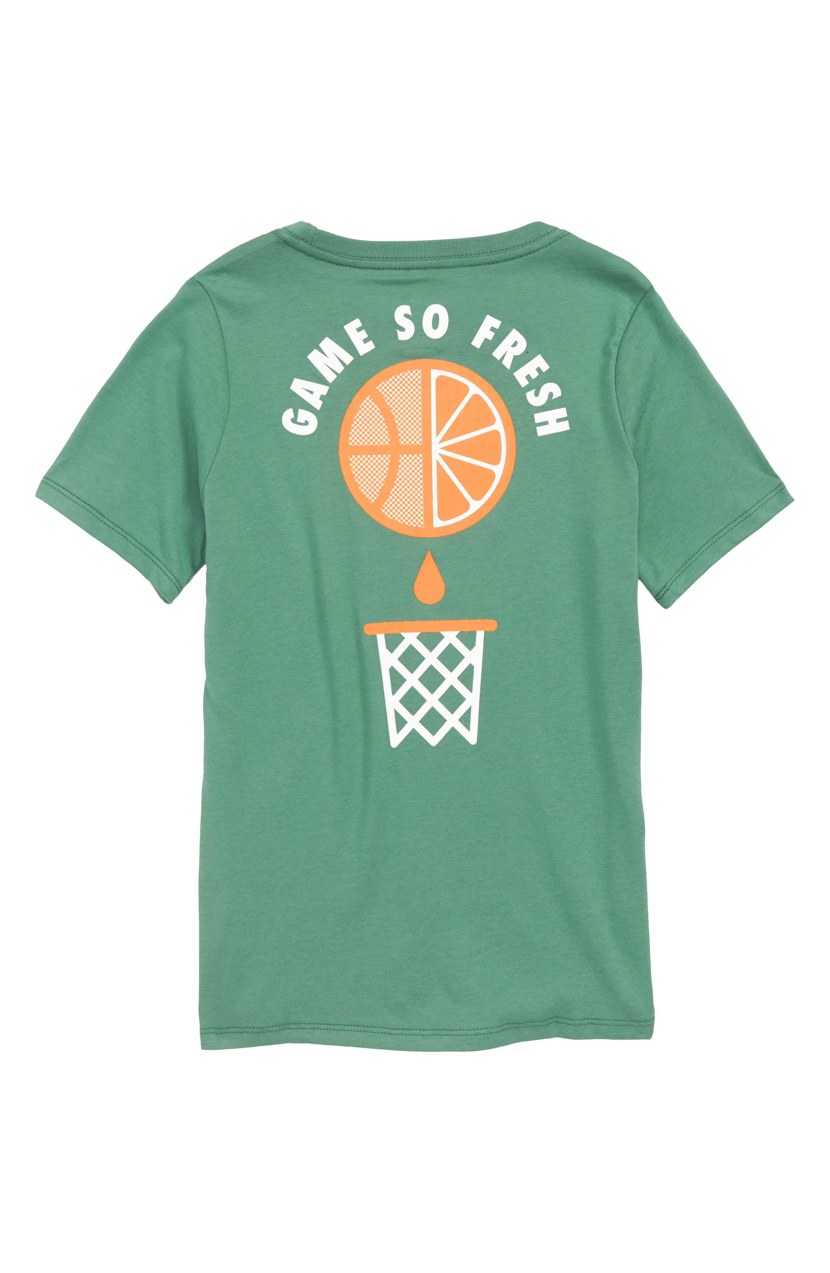 Dry Game So Fresh Graphic T-Shirt,                             Alternate thumbnail 2, color,                             Green Noise