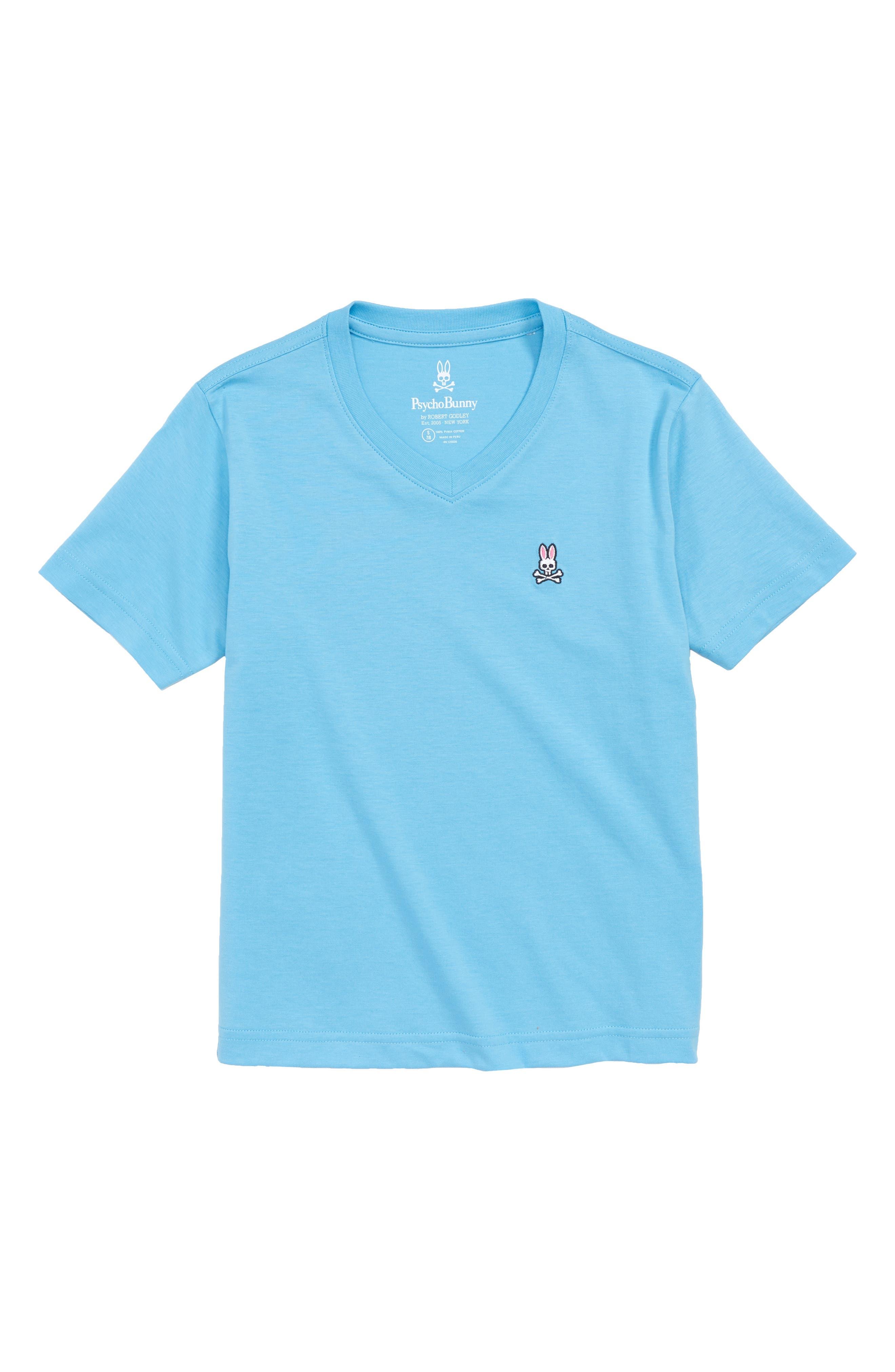 V-Neck T-Shirt,                             Main thumbnail 1, color,                             Ethereal