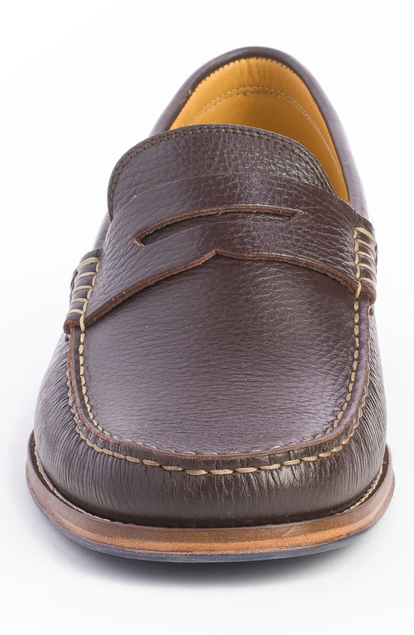 Ripleys Penny Loafer,                             Alternate thumbnail 4, color,                             Brown
