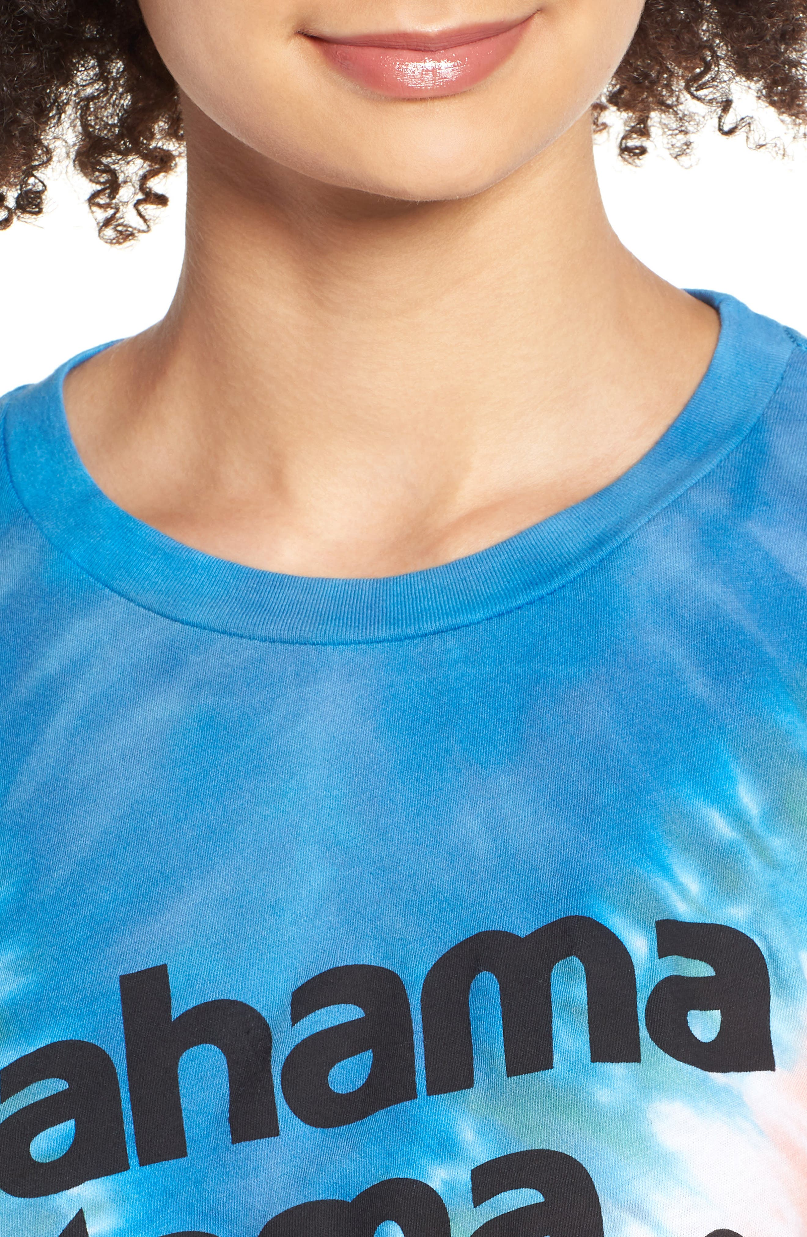 Bahama Mama No9 Tee,                             Alternate thumbnail 4, color,                             Pacific Tie Dye