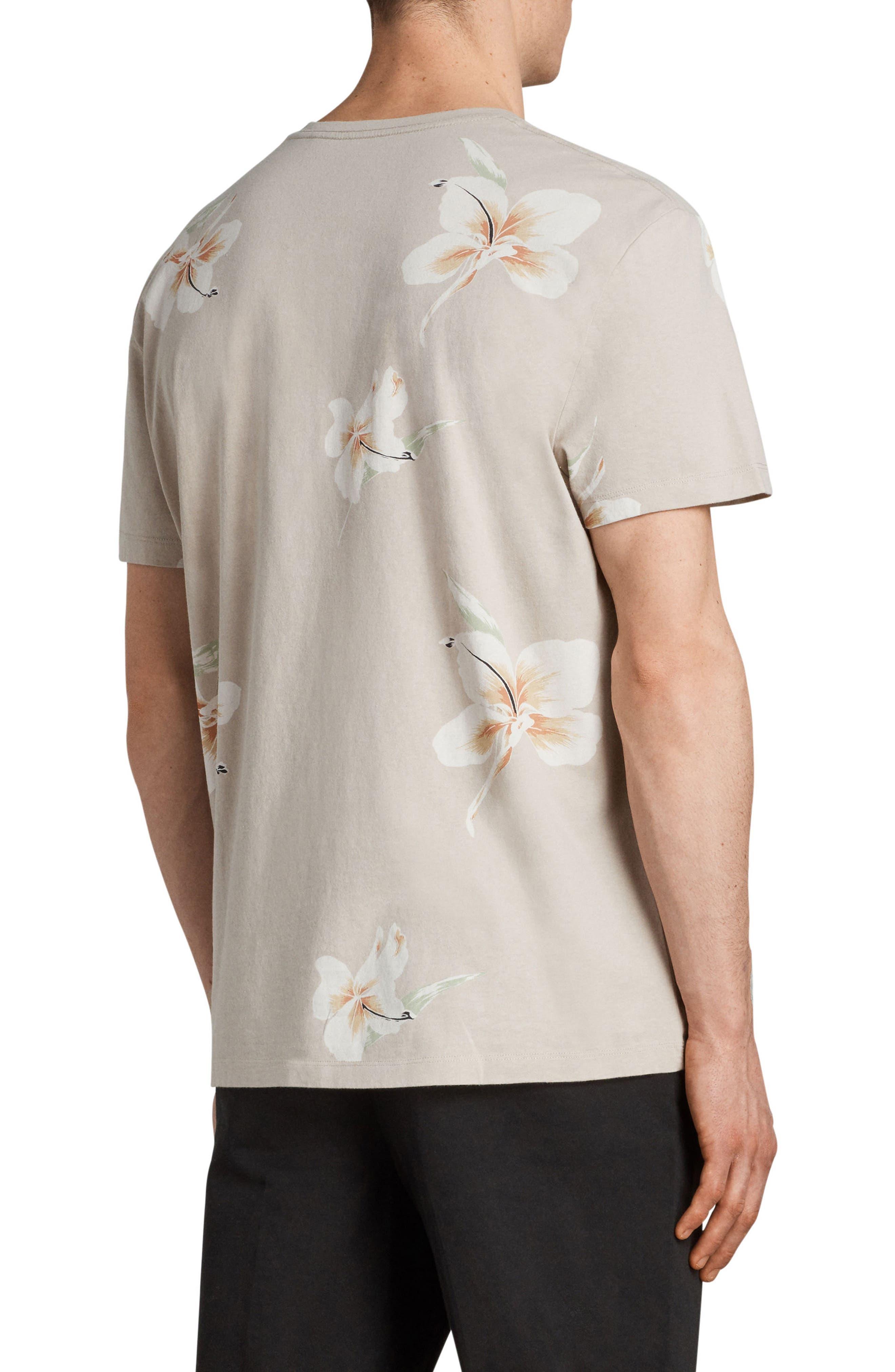 Lily Short Sleeve T-Shirt,                             Alternate thumbnail 2, color,                             Dark Grey