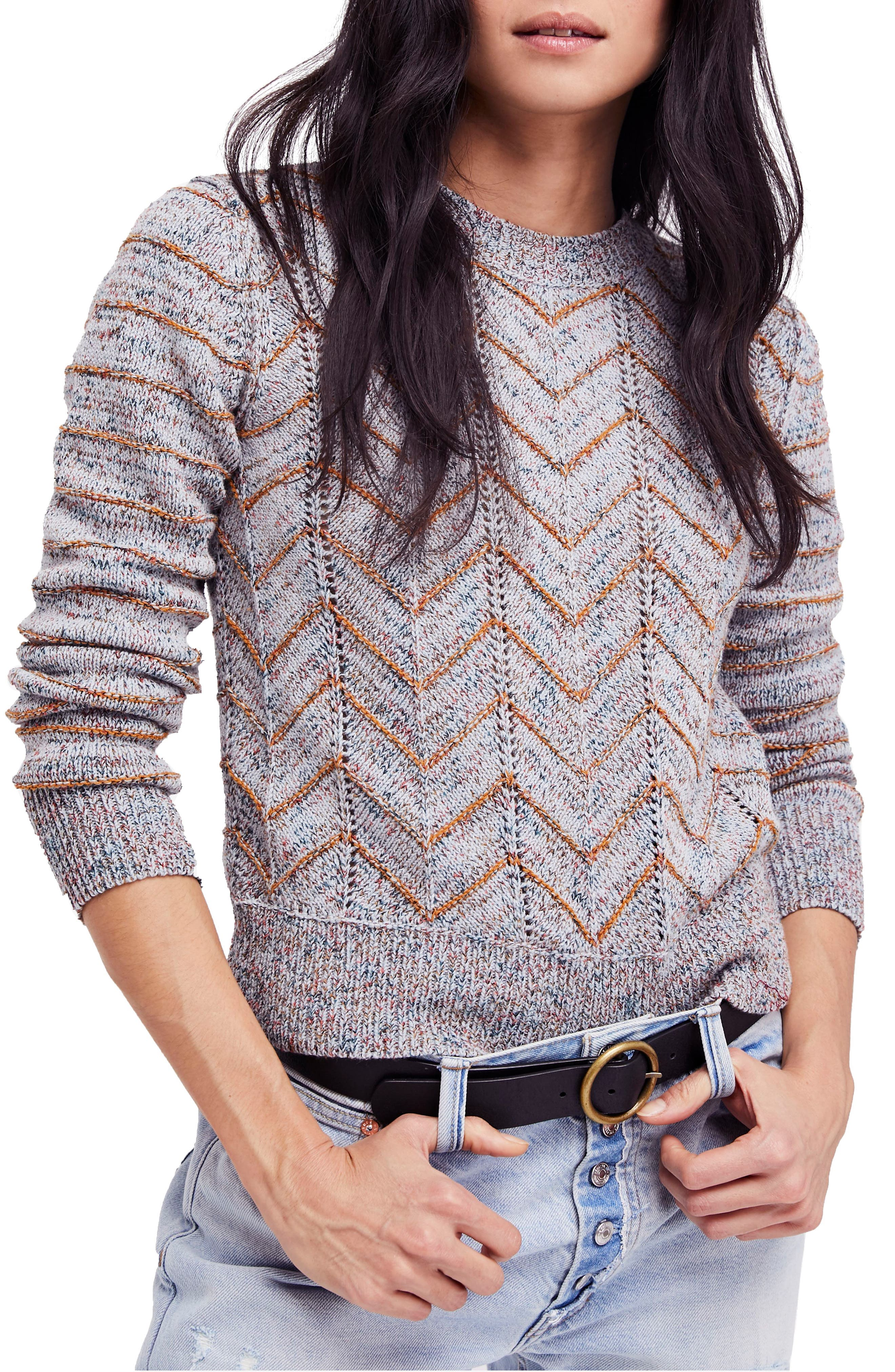 Alternate Image 1 Selected - Free People Zigzag Pullover