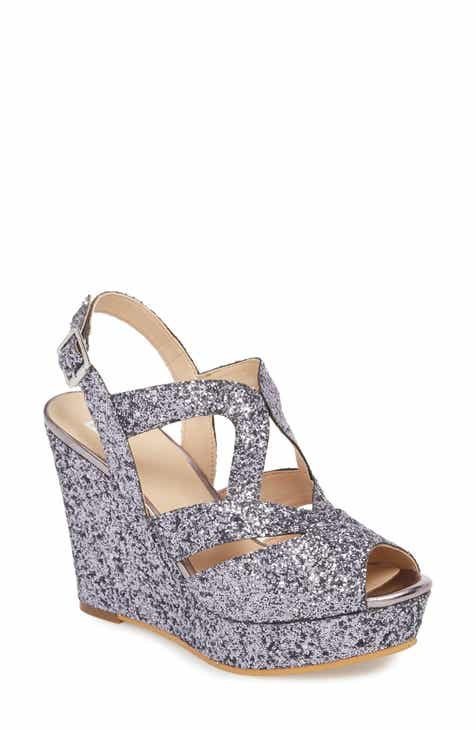 Women S Metallic Wedge Sandals Nordstrom
